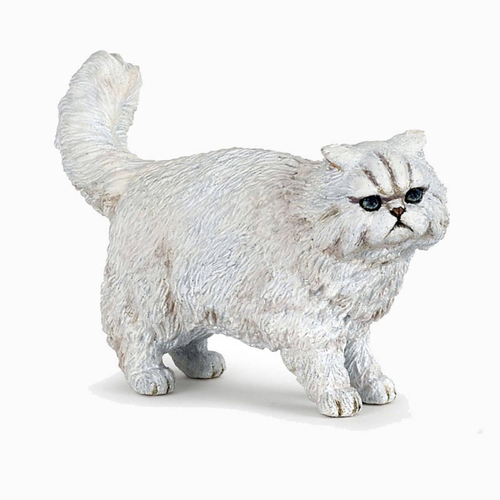 White Persian Cat - Papo Animal