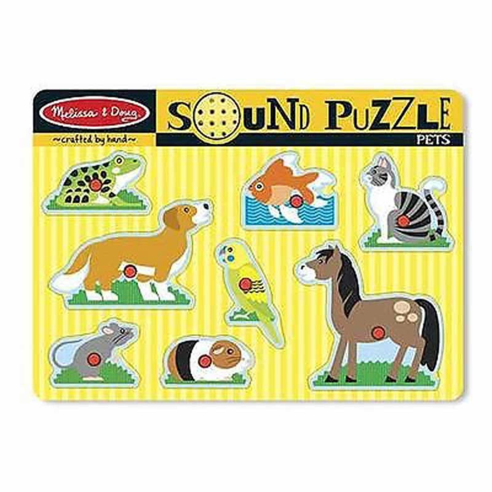 Pets Sound Puzzle 2+