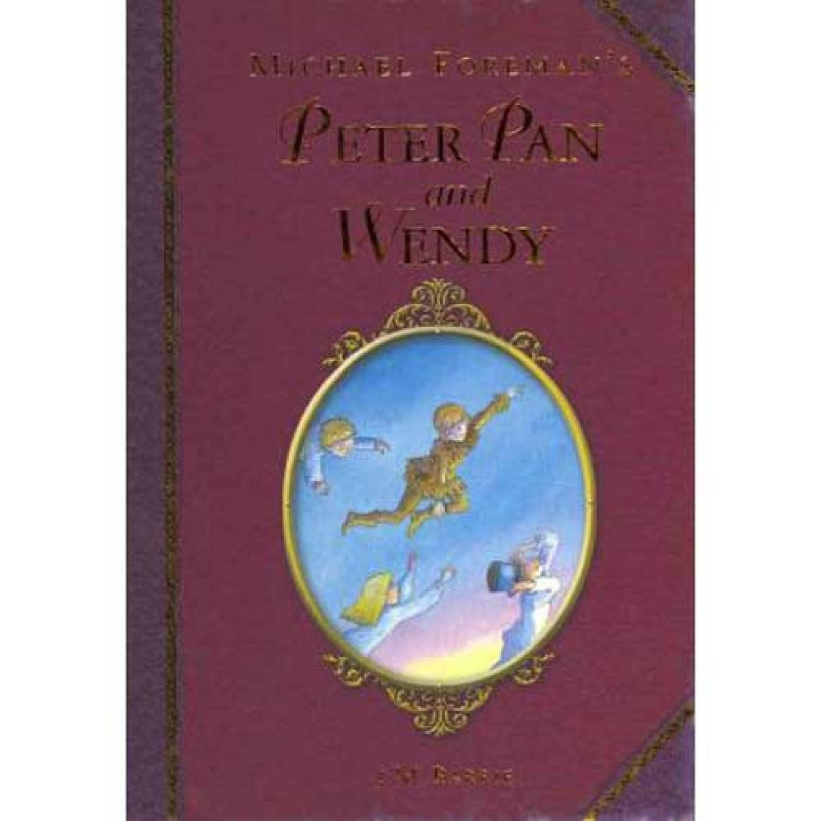 Peter Pan And Wendy Hardback Book