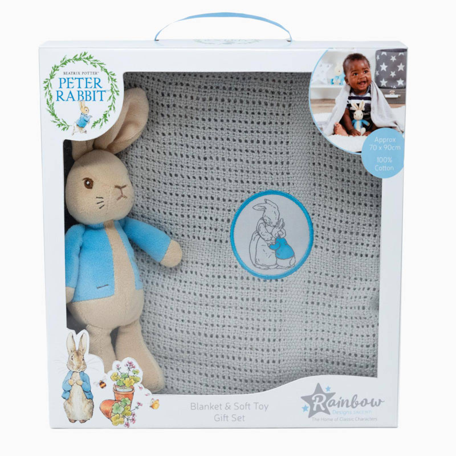 Peter Rabbit Soft Toy And Blanket Set thumbnails