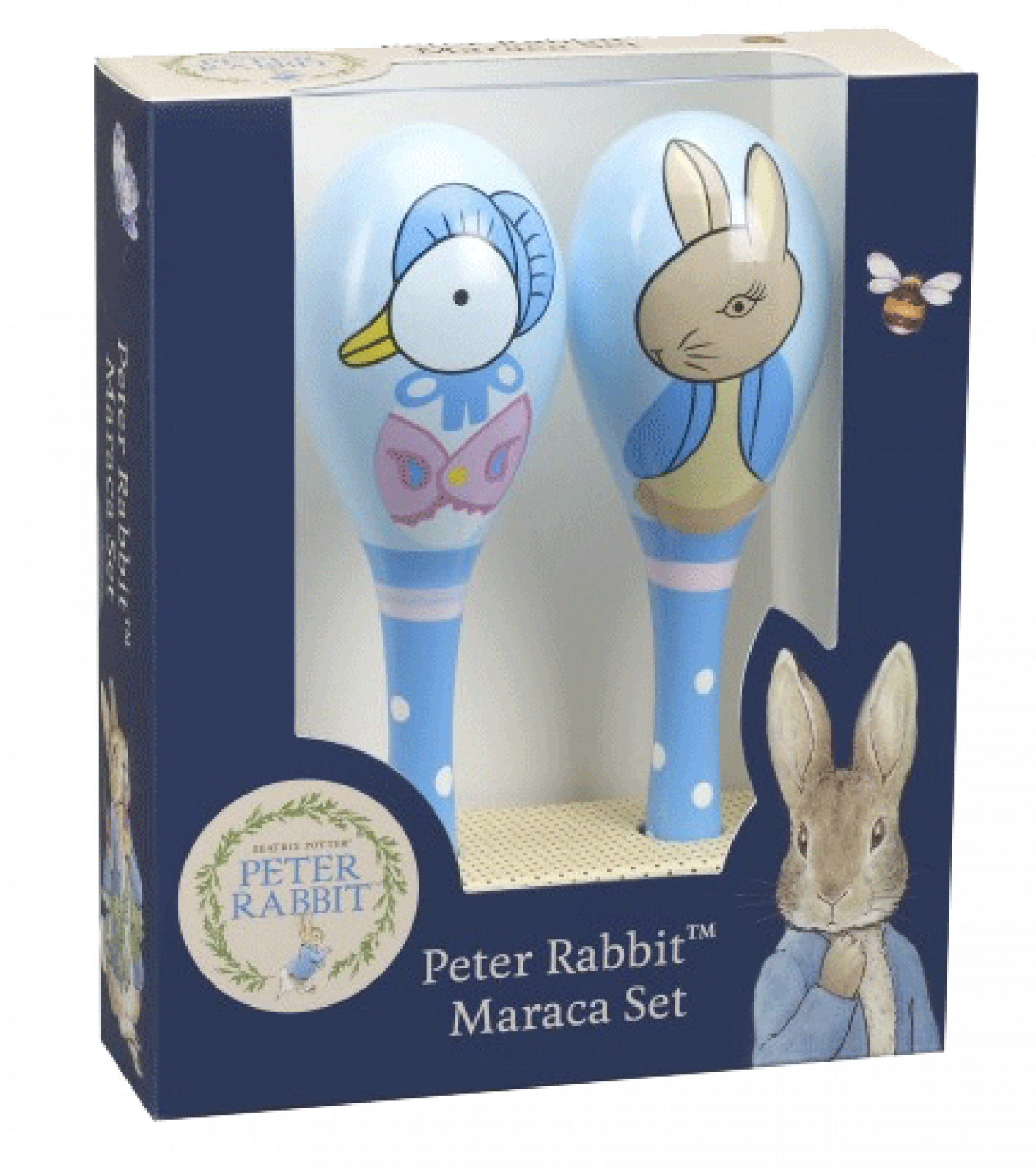 Peter Rabbit™ Boxed Set Of Maracas 1+