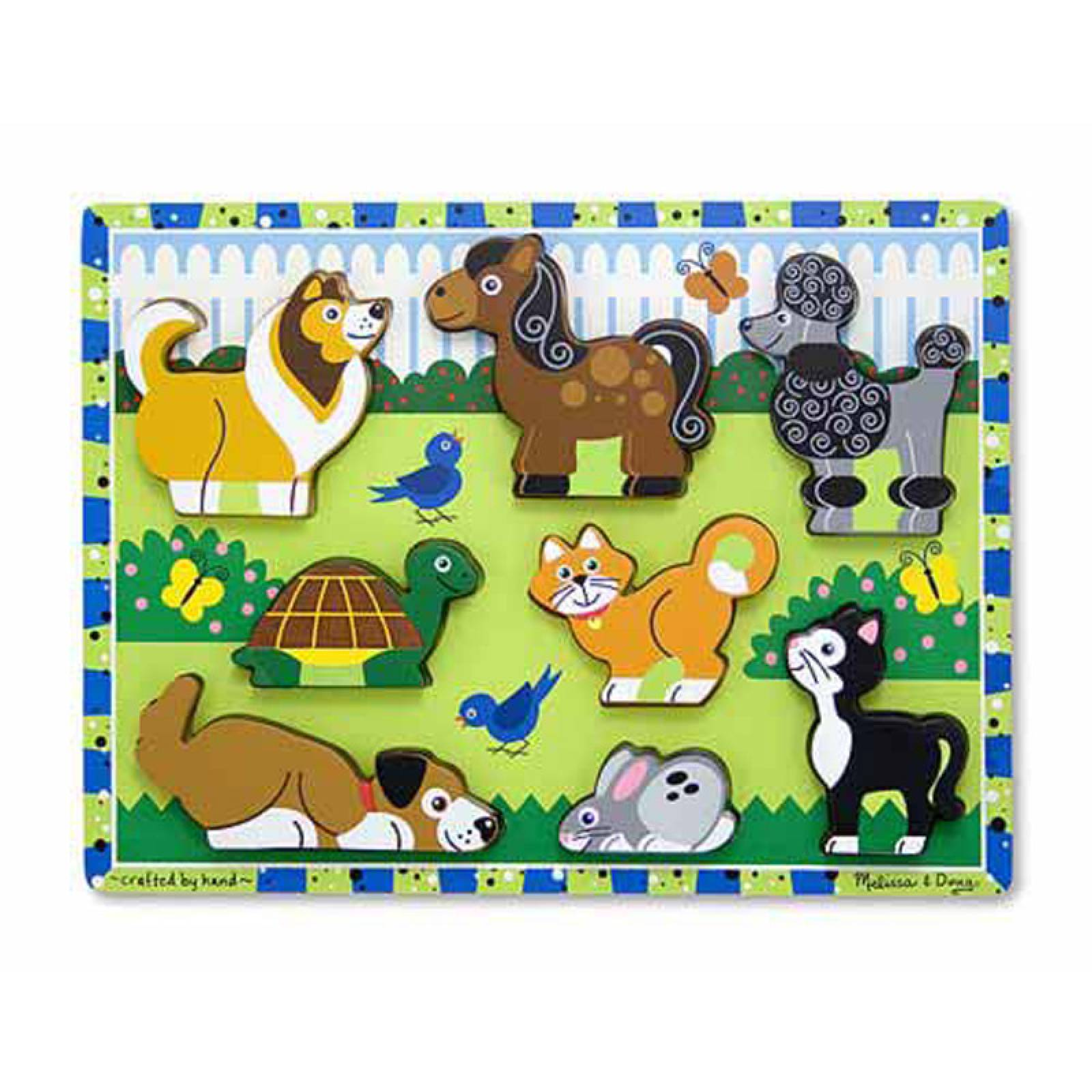 Pets Chunky Wooden Puzzle 2+