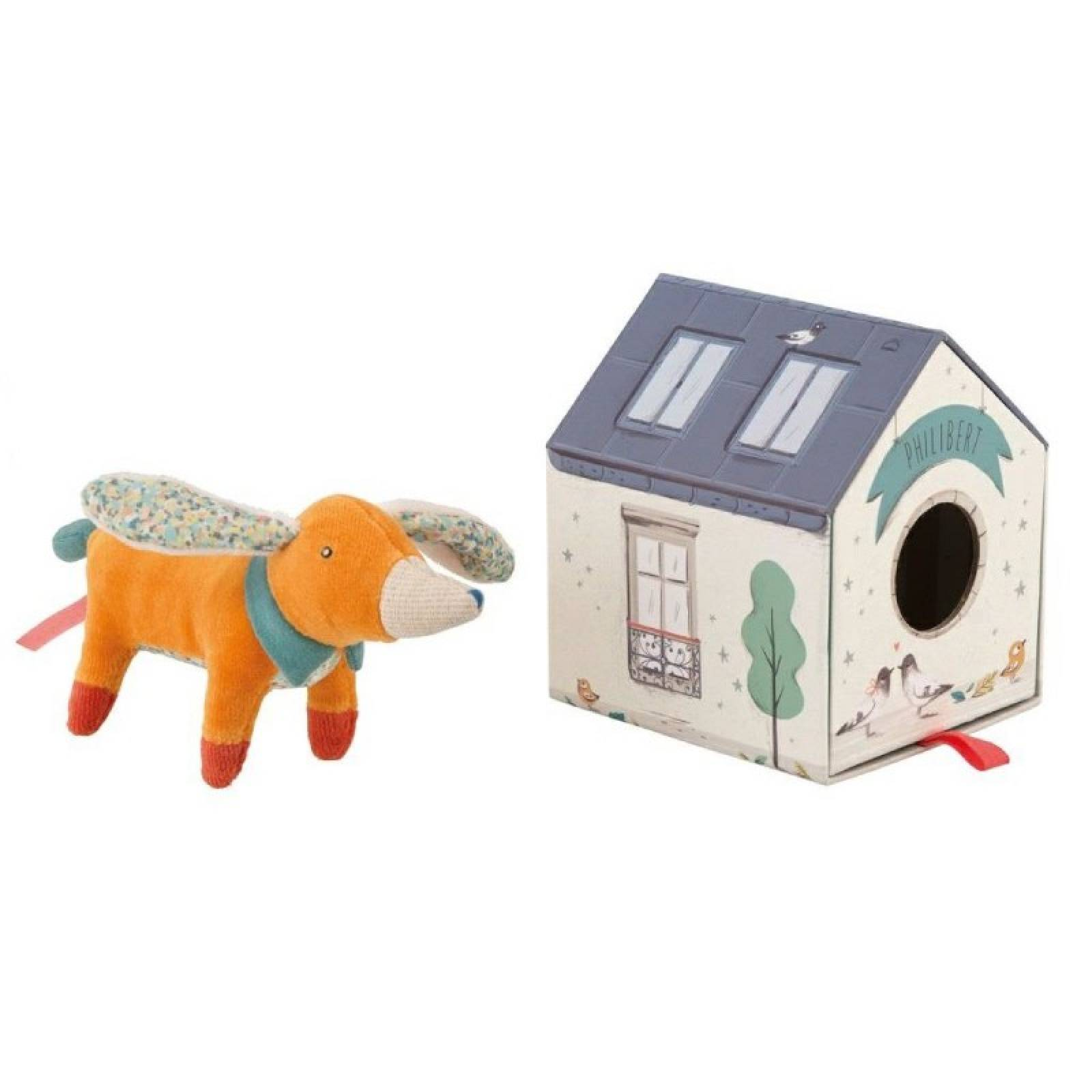 Philibert The Dog Les Parisiennes Soft Toy 1+
