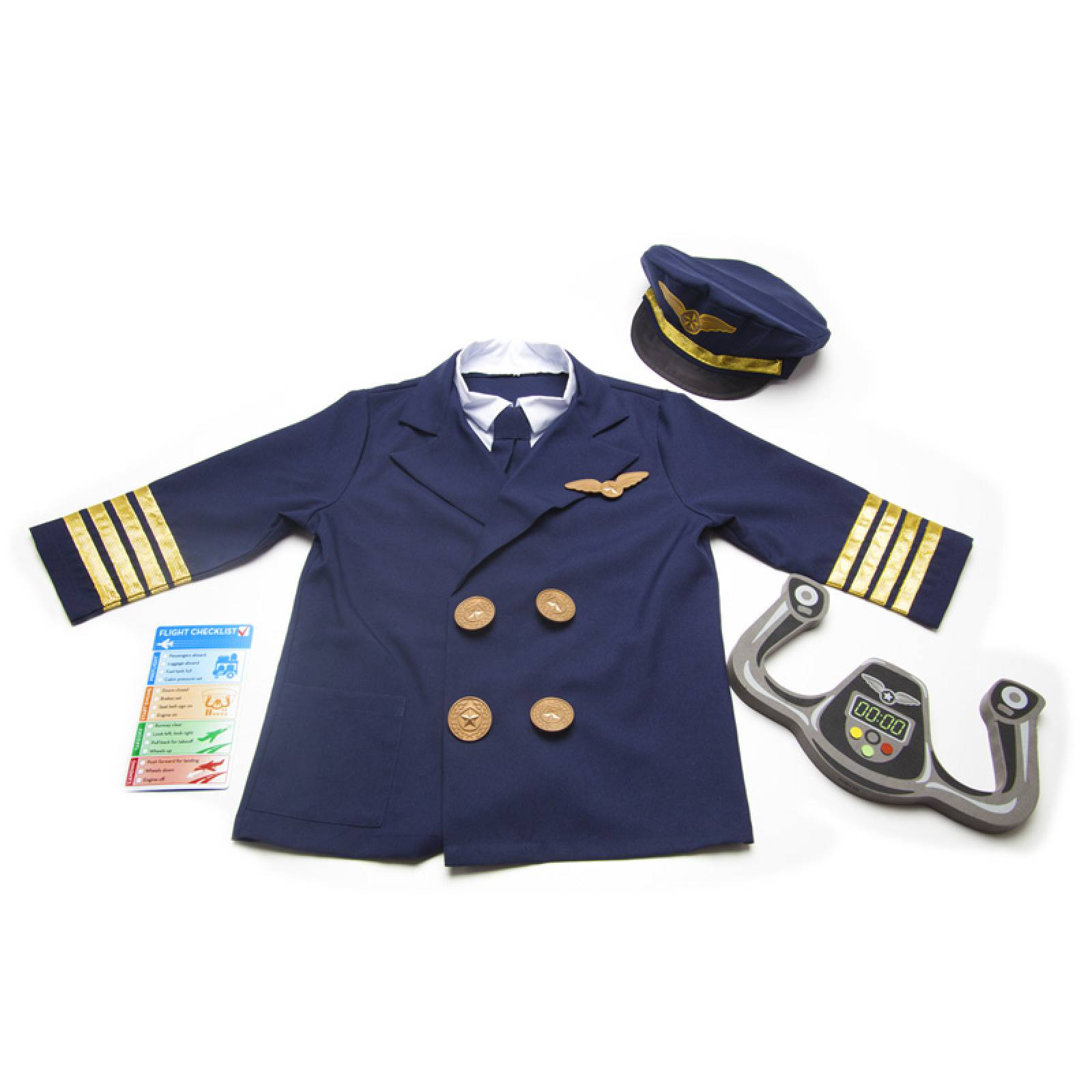 Pilot Fancy Dress Role Play Costume Set thumbnails
