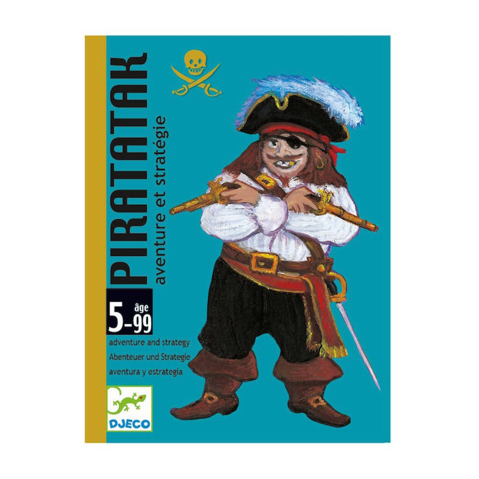 Piratatak Card Game -Strategy Pirate Boat Construction