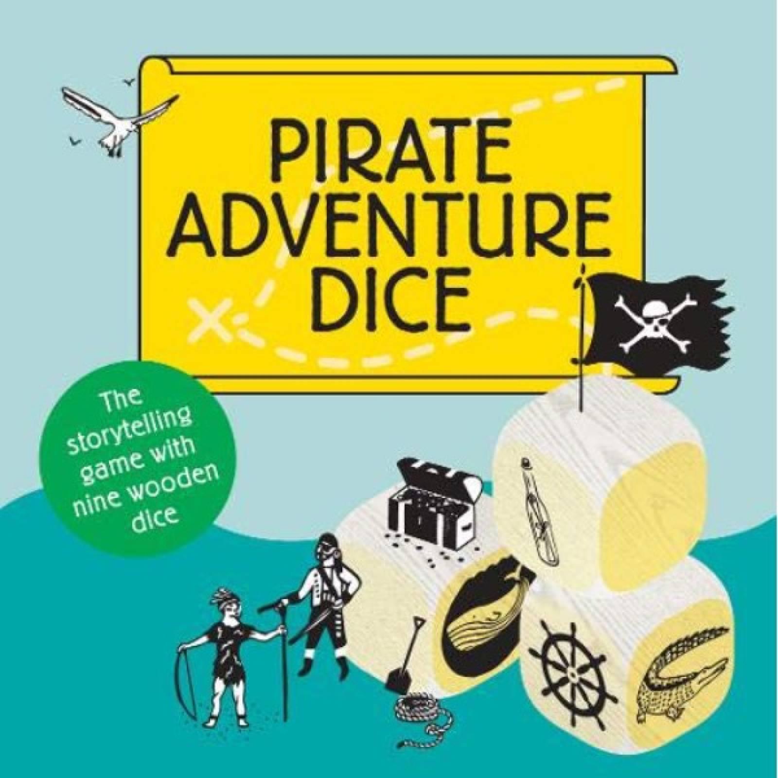 Pirate Adventure Dice Game 6+