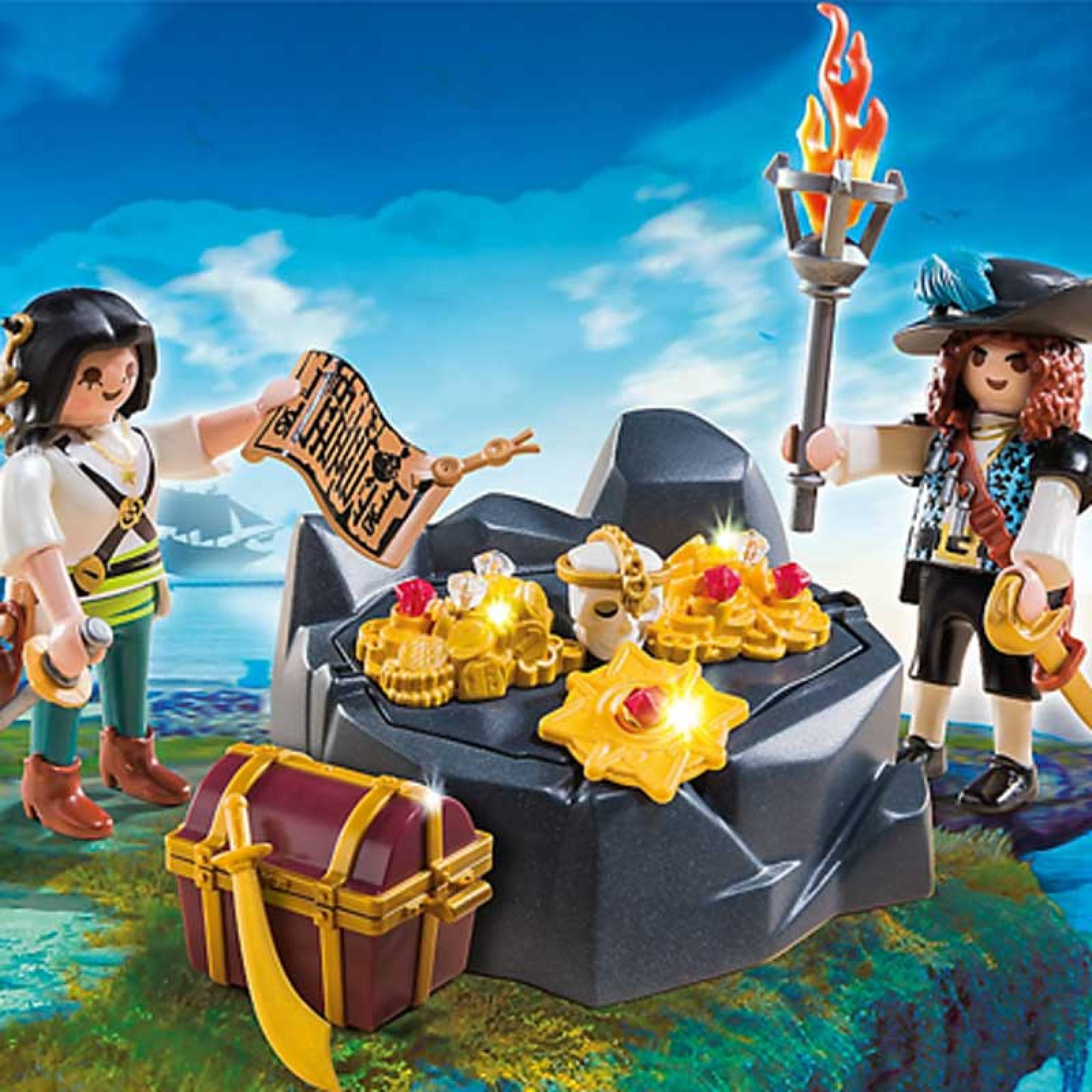 Pirate Treasure Hideout Playmobil 6683