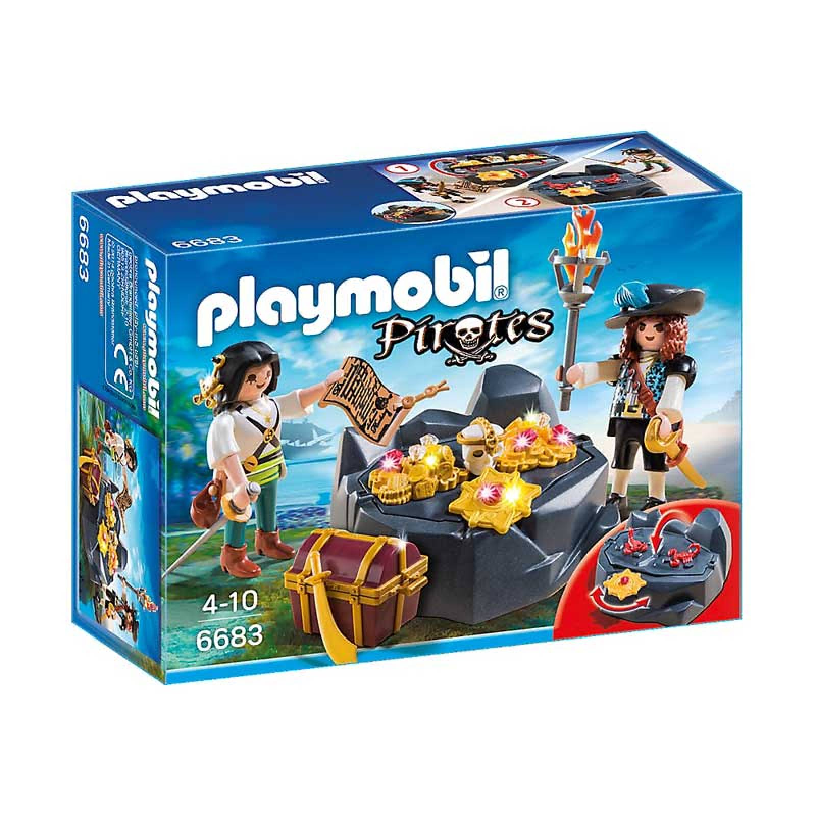 Pirate Treasure Hideout Playmobil 6683 thumbnails