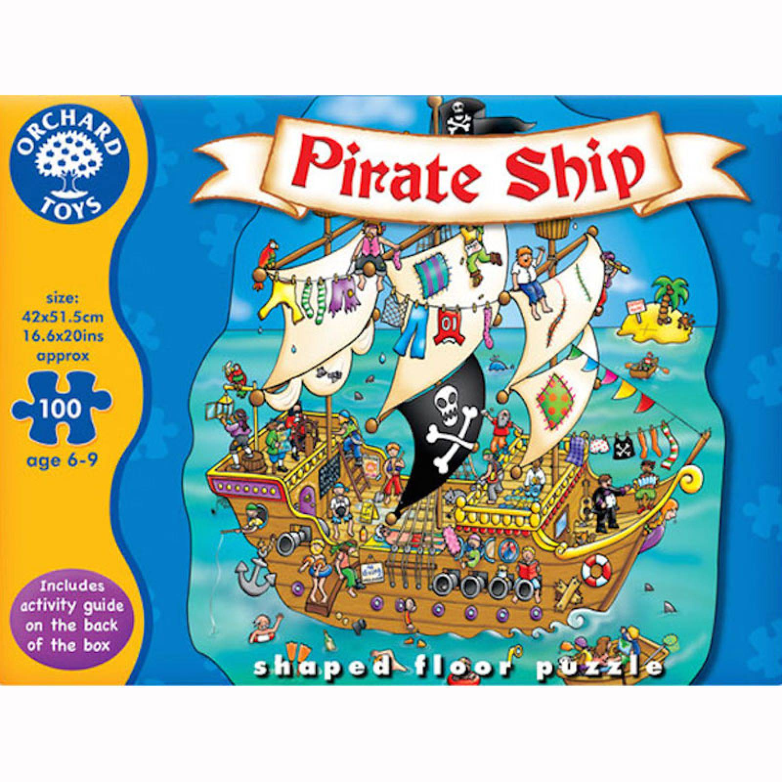 Pirate Ship Puzzle Jigsaw By Orchard Toys thumbnails