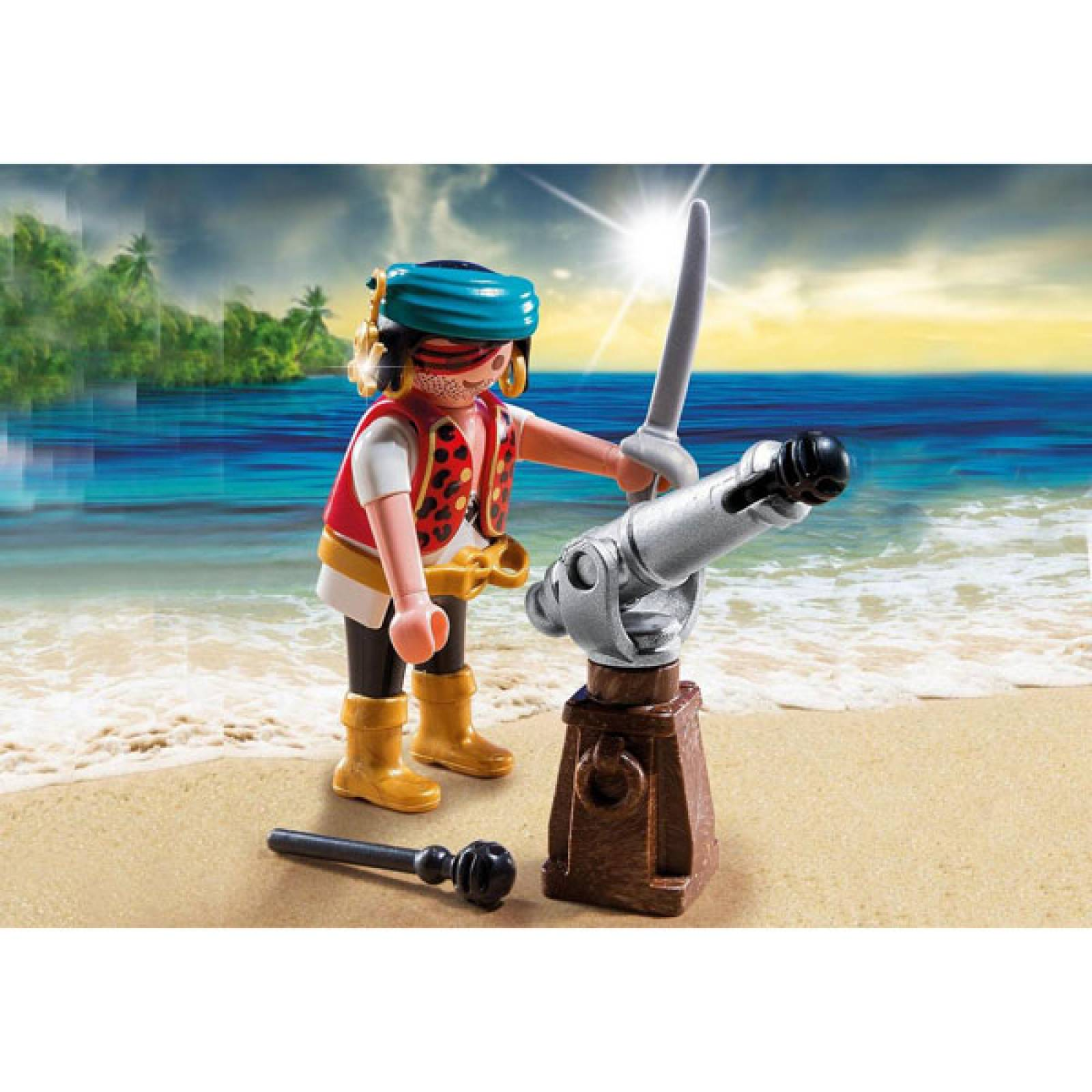 Pirate With Cannon Playmobil 5378 thumbnails