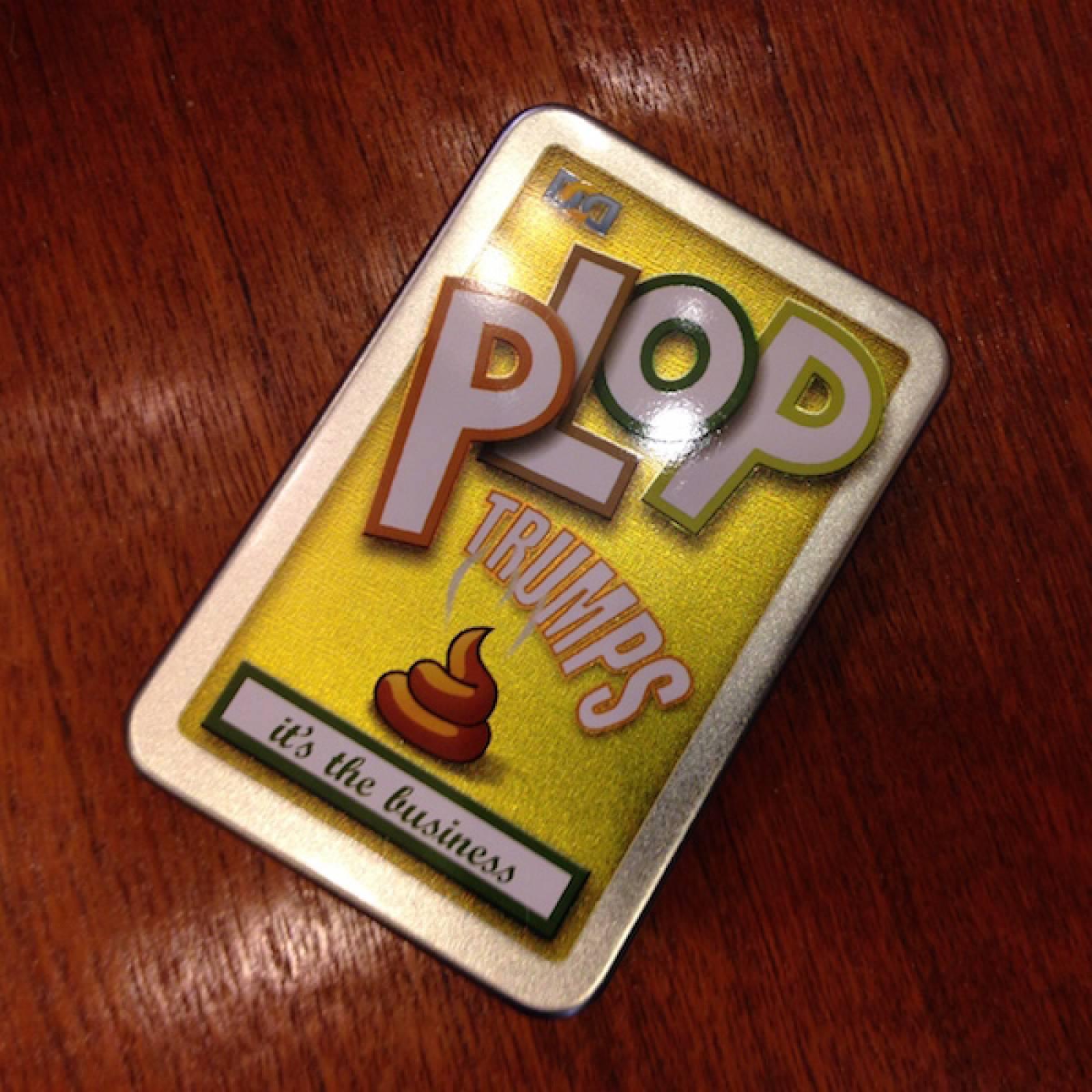 Plop Trumps Card Game 6+