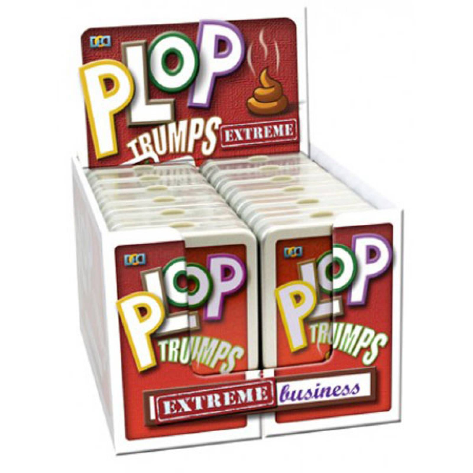 Plop Trumps Extreme Card Game 8+