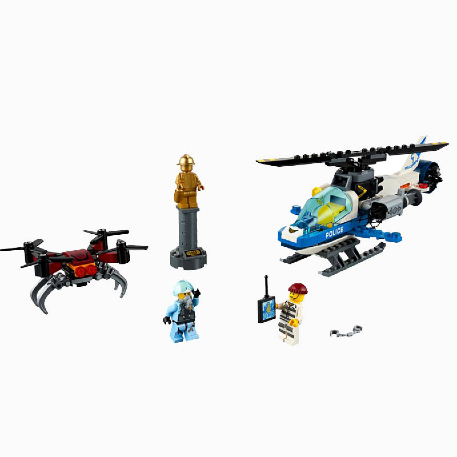 LEGO City Sky Police Drone Chase 60207 thumbnails