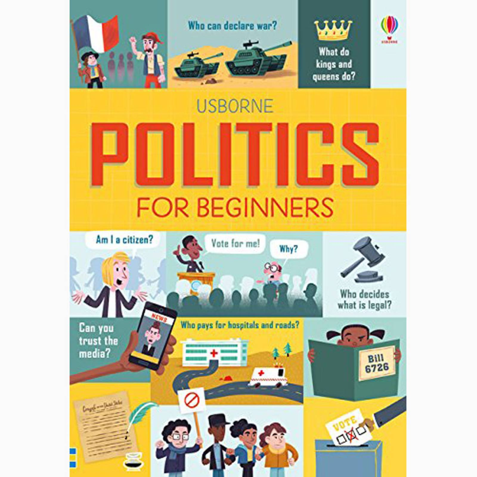 Politics For Beginners - Paperback Book