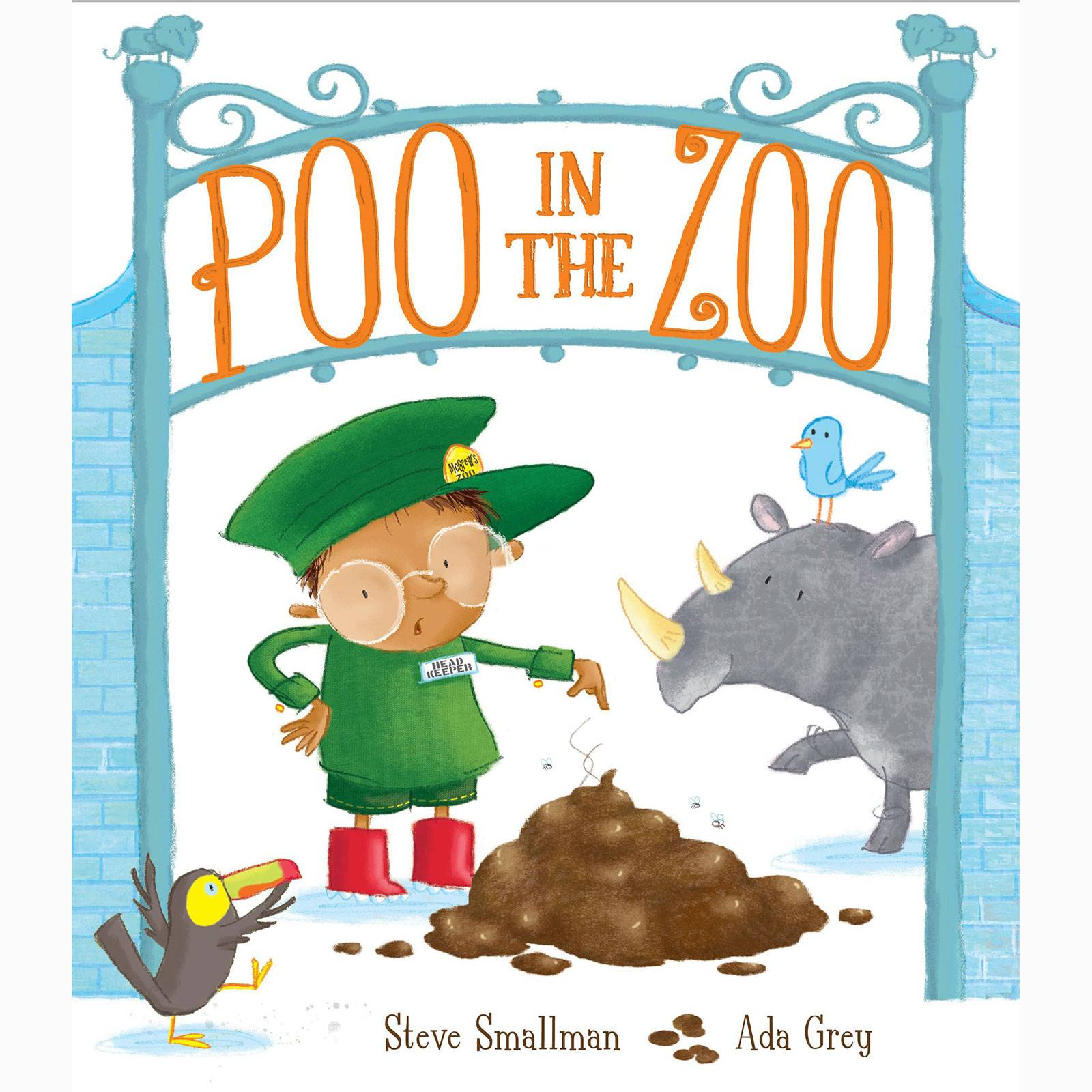 Poo In The Zoo - Paperback Book