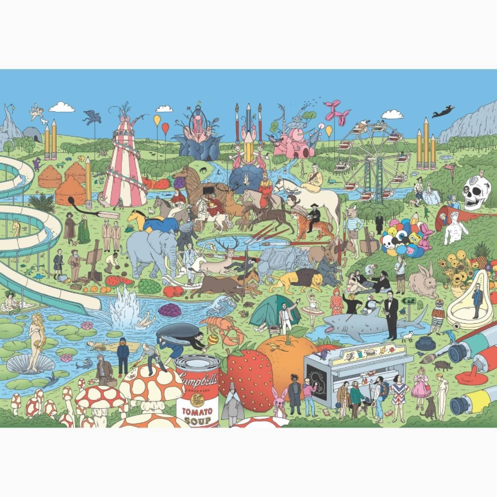 Pop Art Puzzle thumbnails