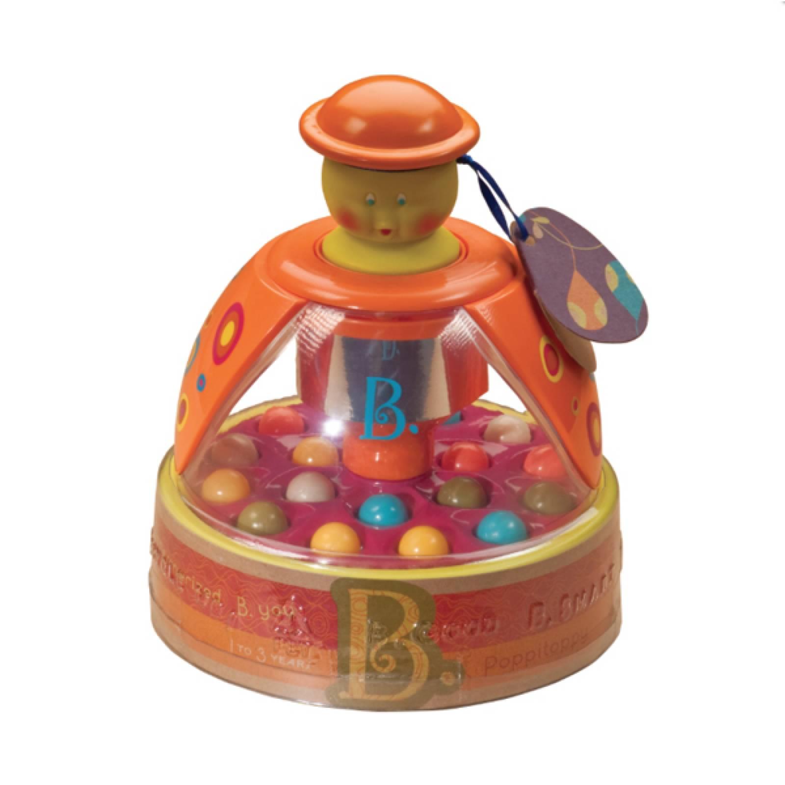 Poppitoppy Pop Ball Toy By B. Toys 1Yr+