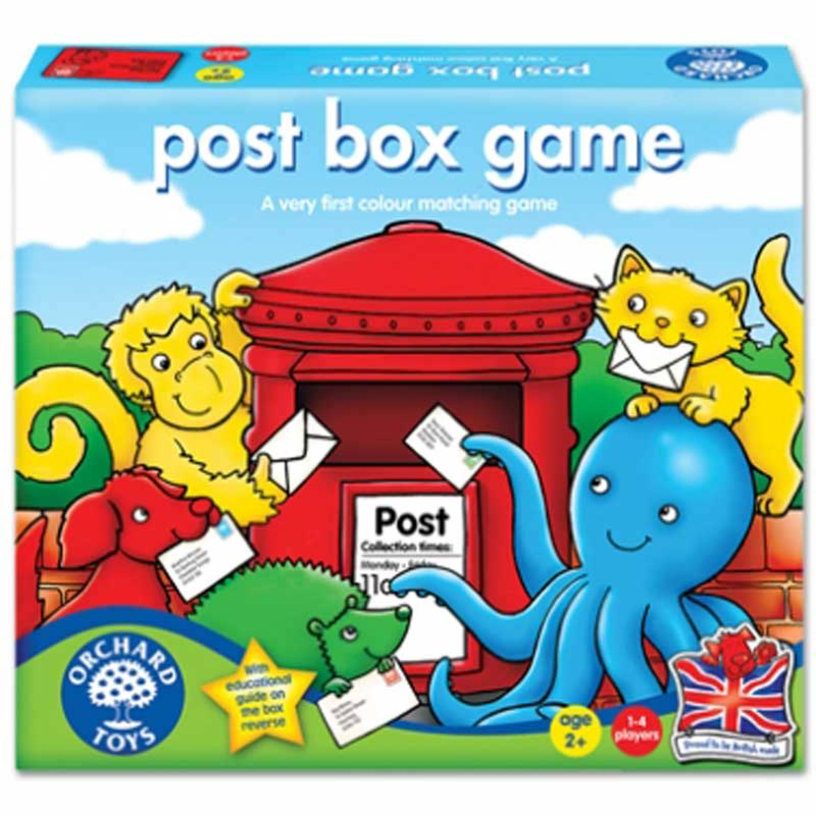 Post Box Game By Orchard 2+yrs