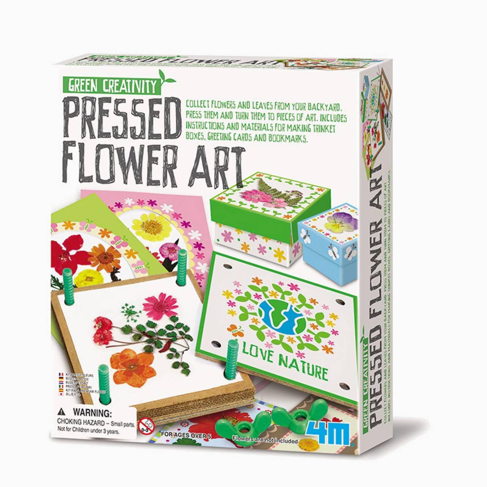 Pressed Flower Art - Art Kit 5+