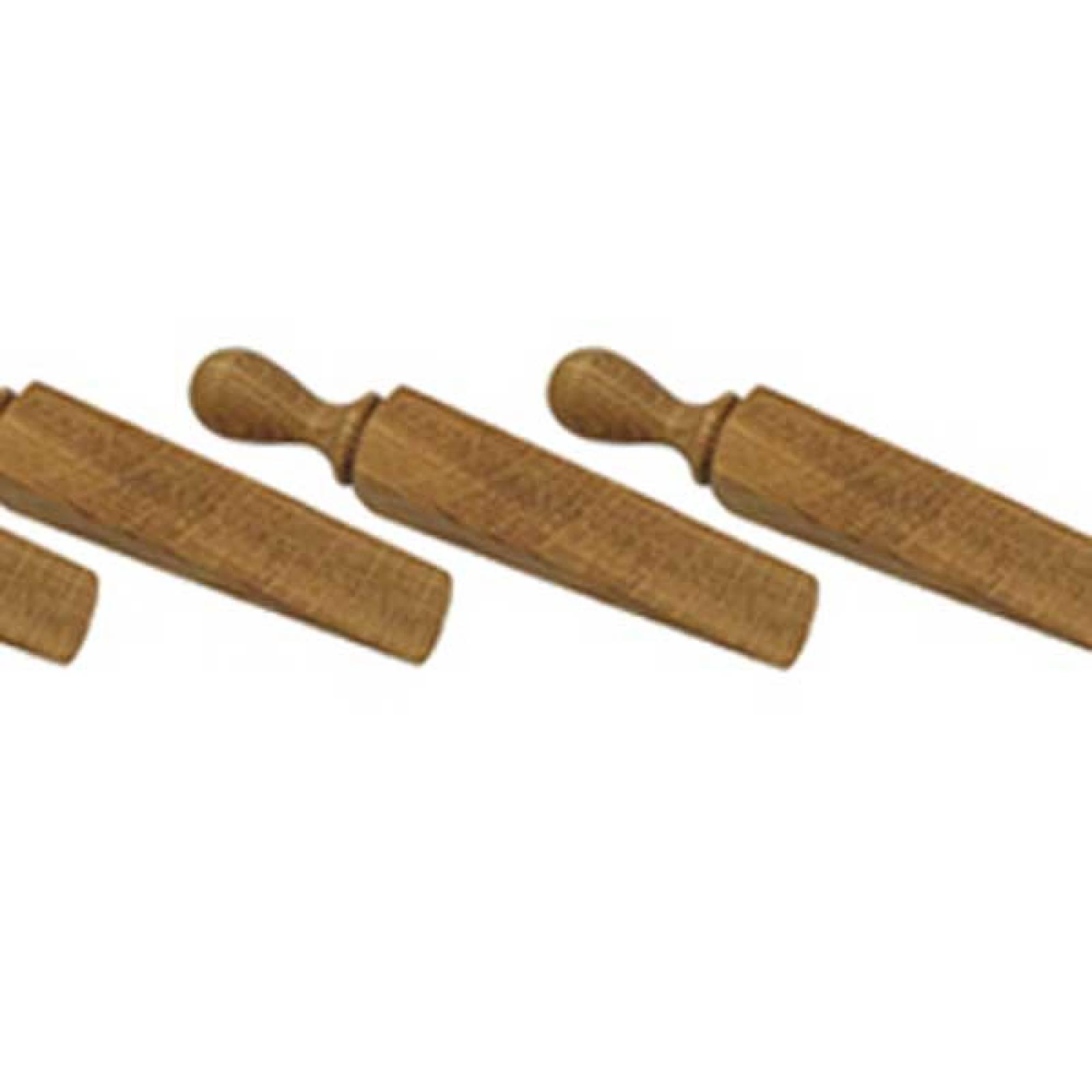 Wooden Door Wedge  / Stop 14cm Various European Hardwoods
