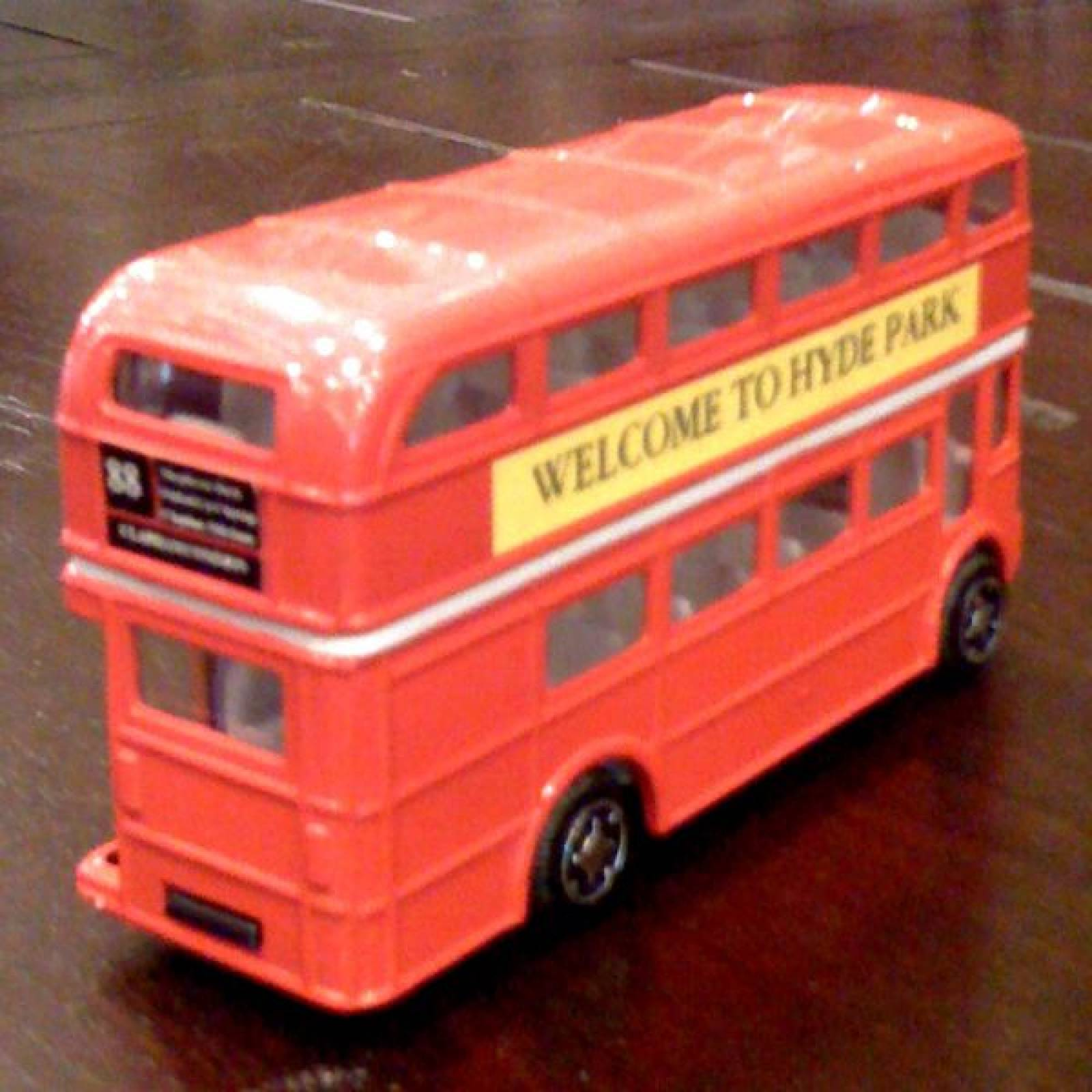 London Routemaster Bus Die Cast. thumbnails