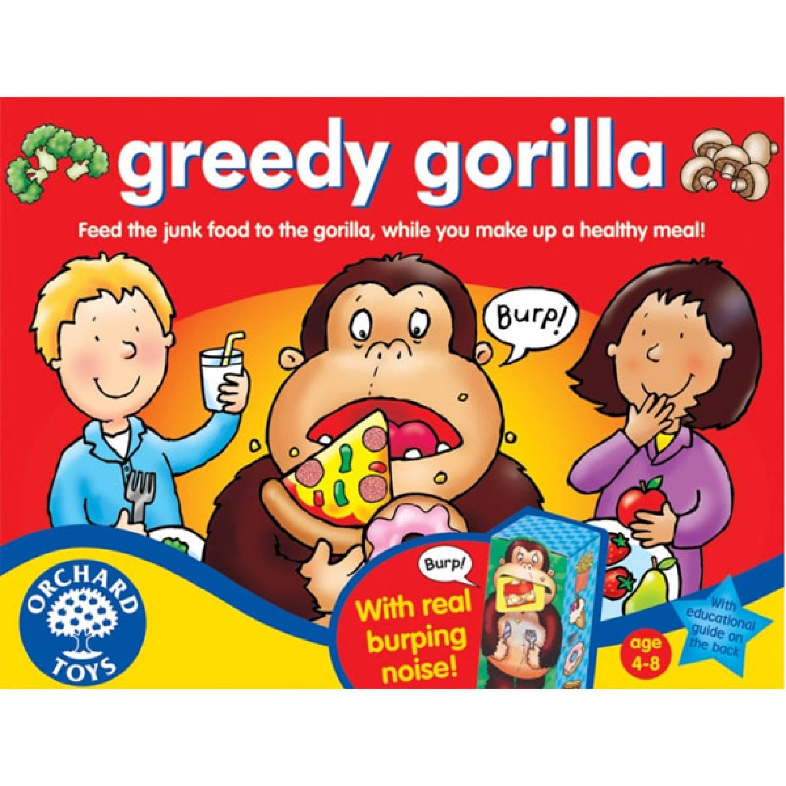 Greedy Gorilla Game By Orchard Toys 5+
