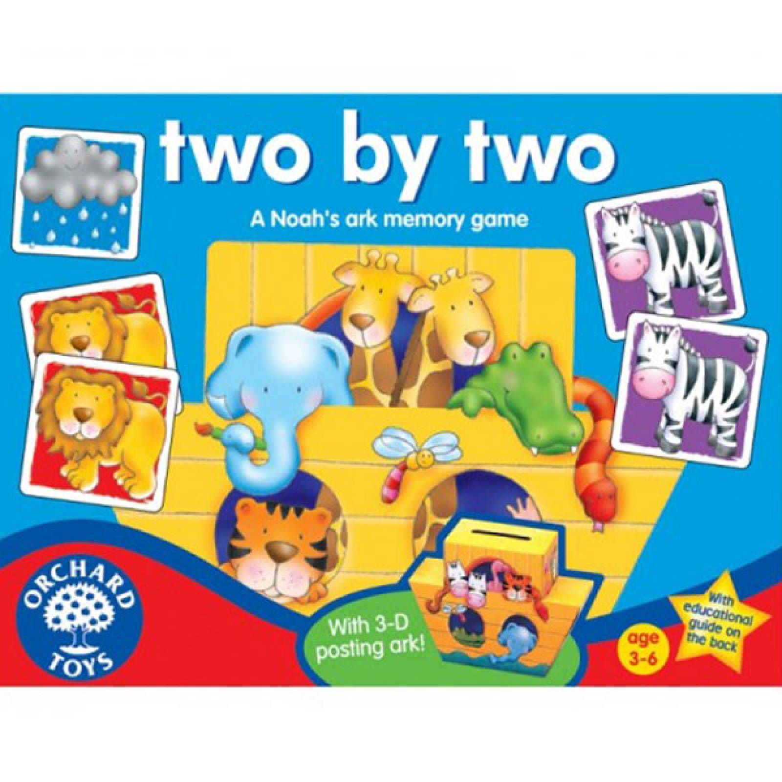 Two By Two Game Orchard Toys 2+