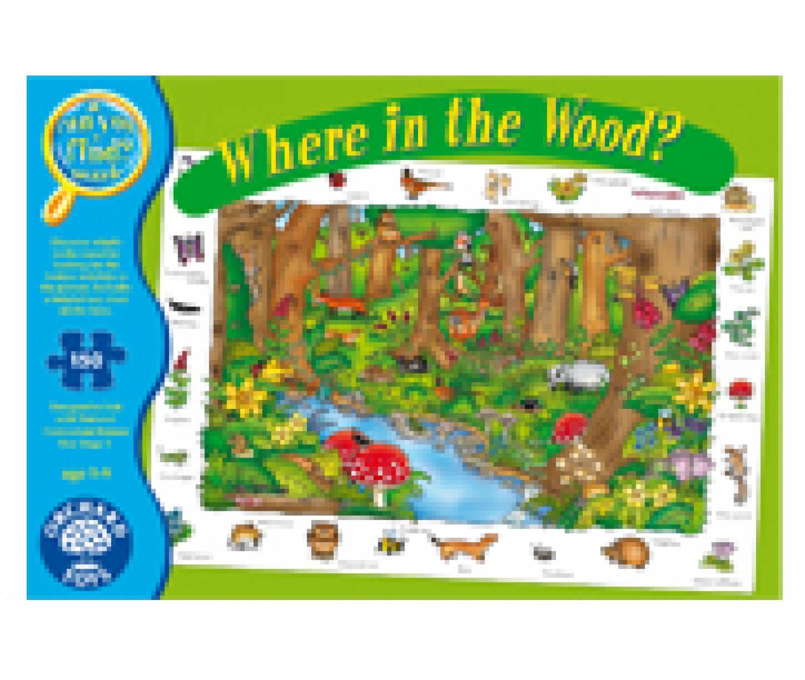 Where In The Wood Jigsaw Puzzle By Orchard Toys thumbnails