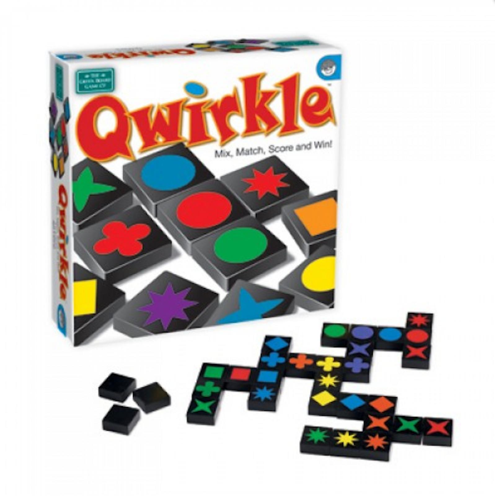 Qwirkle Game Mix And Match Colour Shape Game 6+ thumbnails