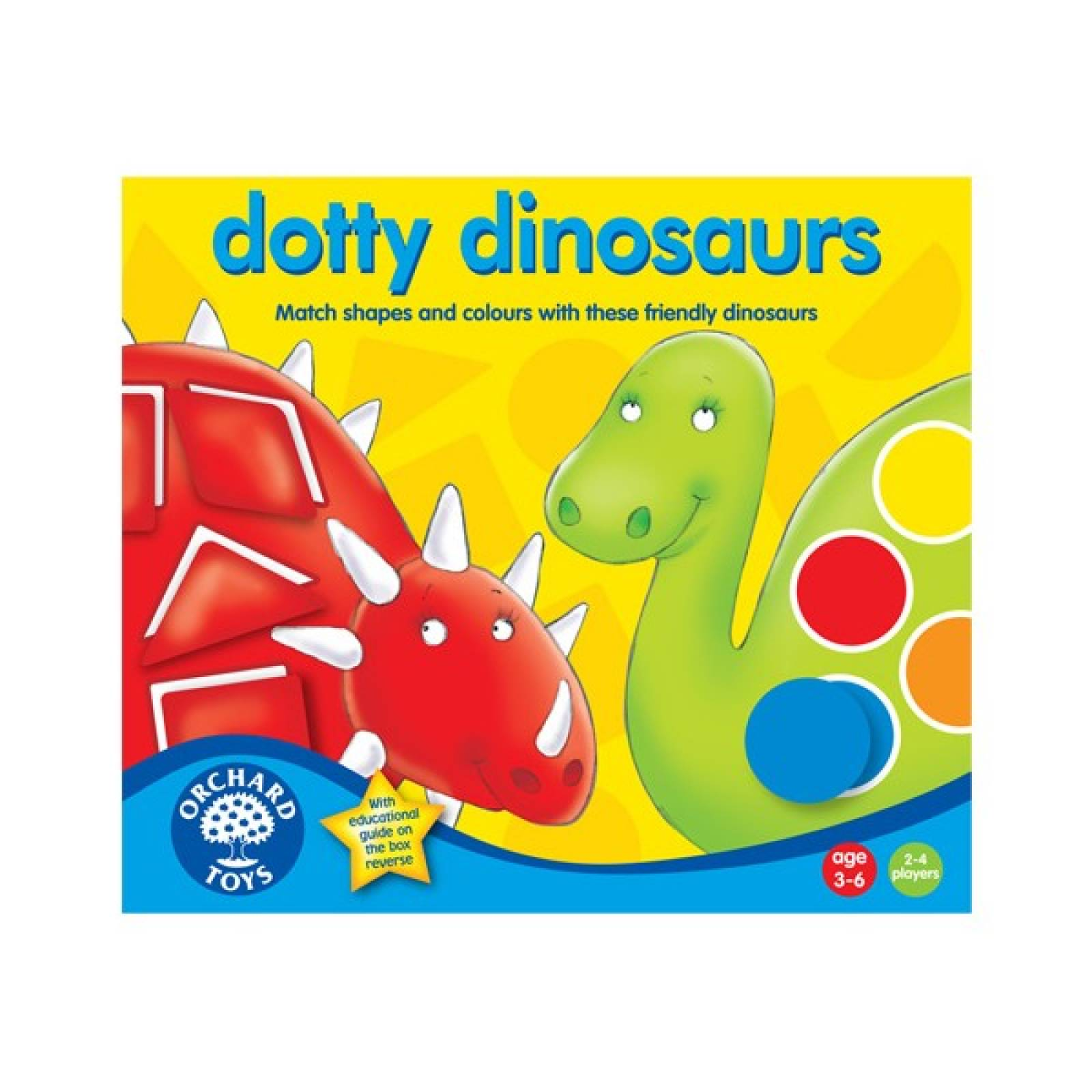 Dotty Dinosaur Game By Orchard Toys 3-6yrs thumbnails