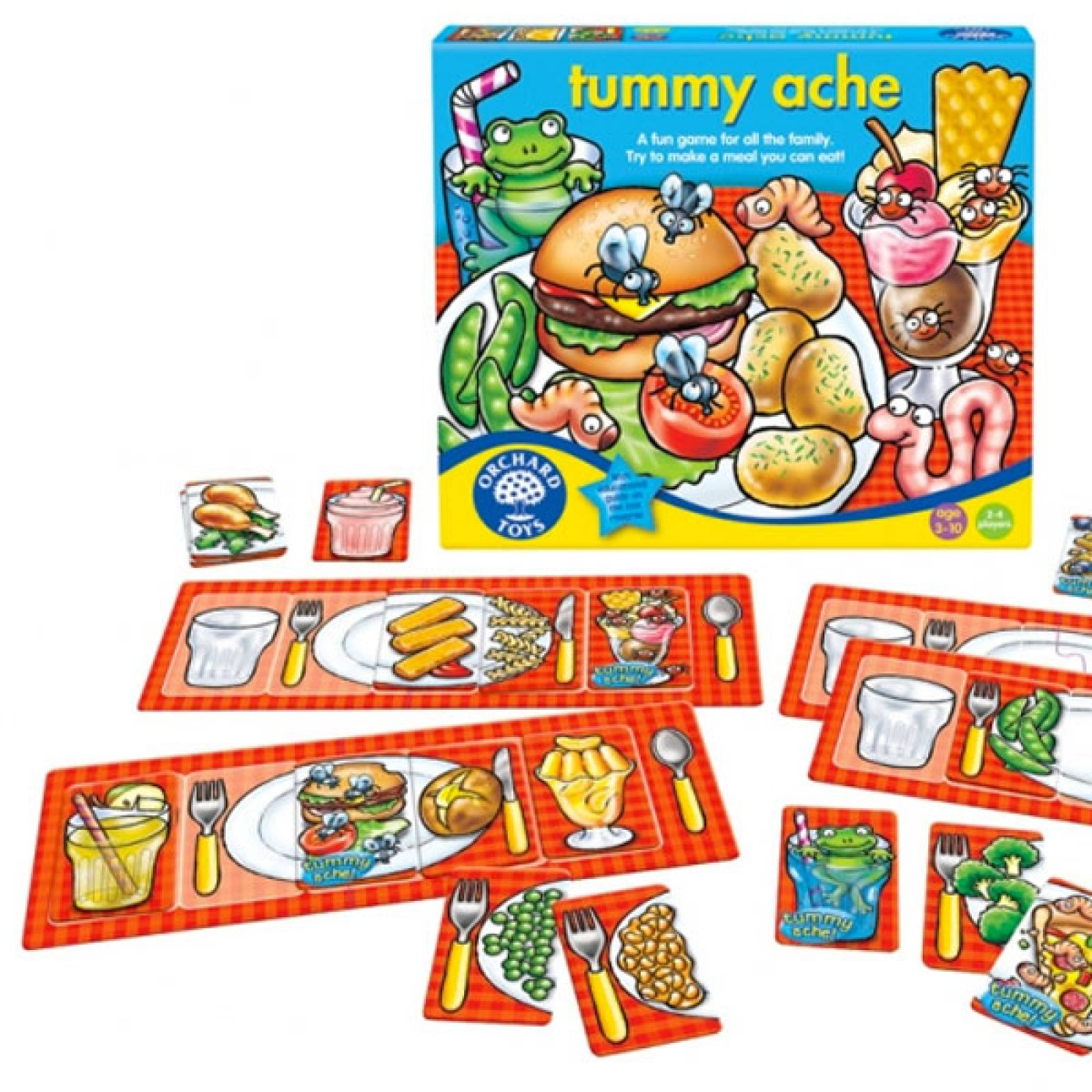 Tummy Ache Game By Orchard Toys 3+ thumbnails