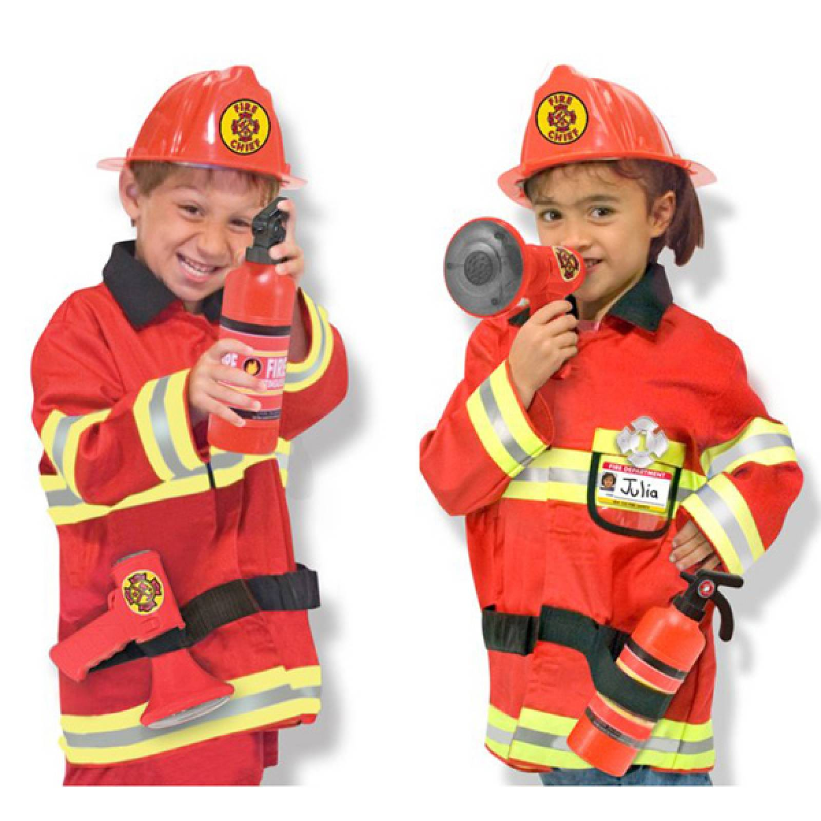 Fancy Dress Role Play Costume Set - Fire Fighter thumbnails