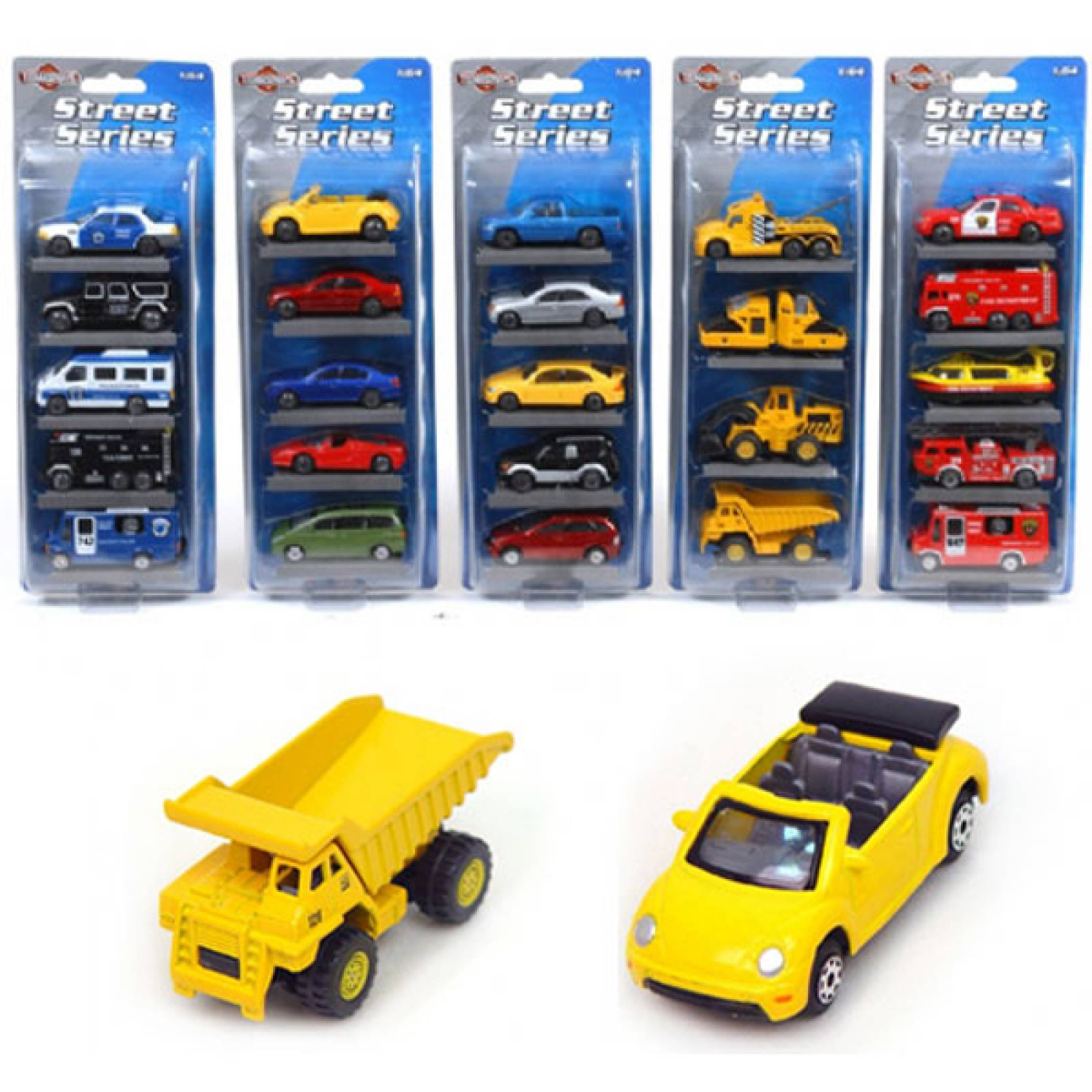 Teamsterz Street Series Diecast Set of 5 vehicles