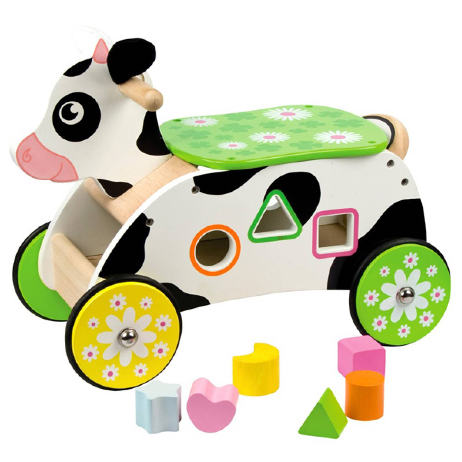 Cow Sit and Ride On Shape Sorter.