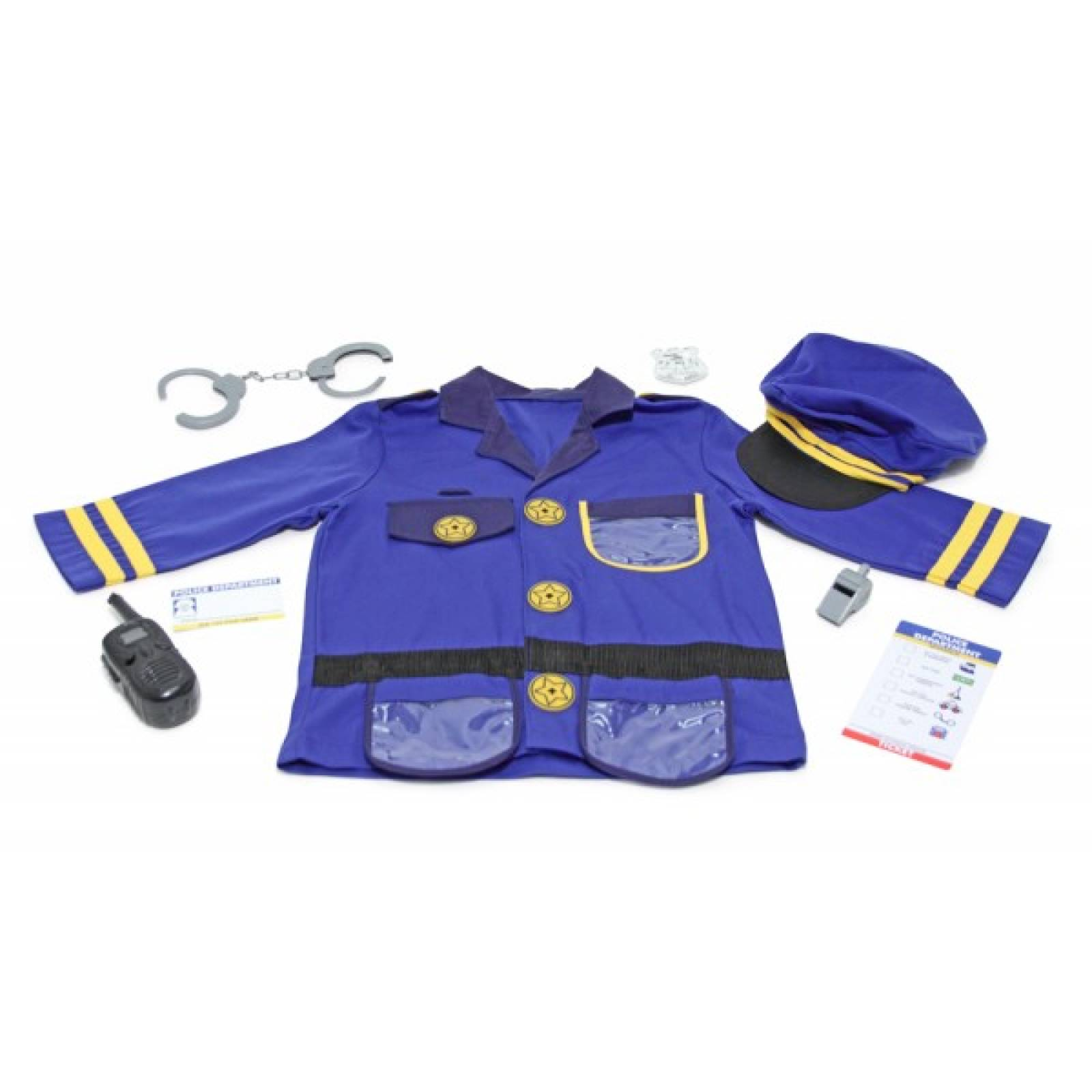 Fancy Dress Role Play Costume Set - Police Officer thumbnails