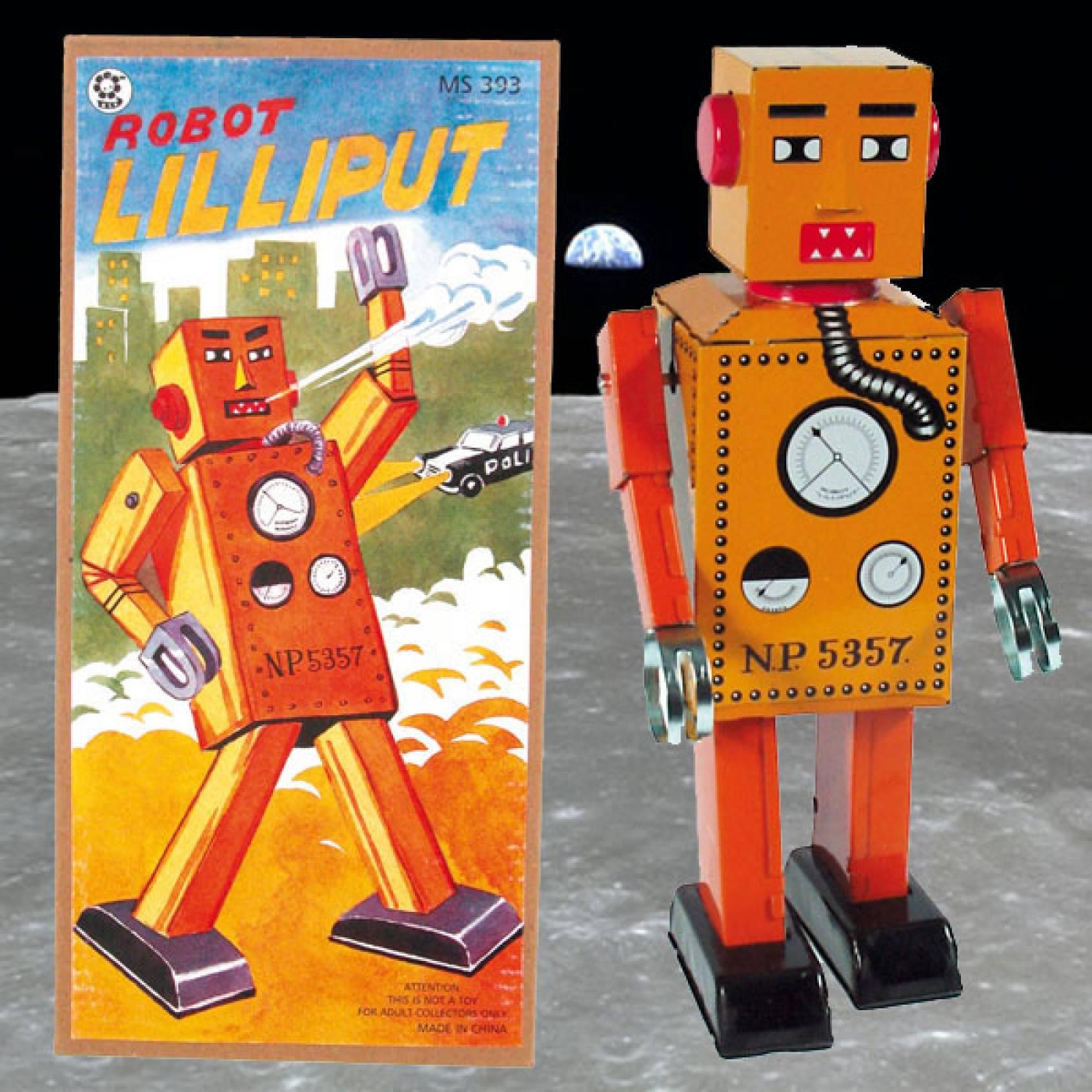 LILLIPUT Robot Tin Toy. 22cm.