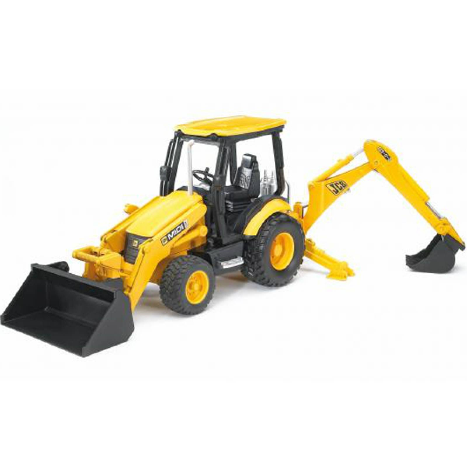 Bruder JCB Yellow Digger Tractor Large Vehicle