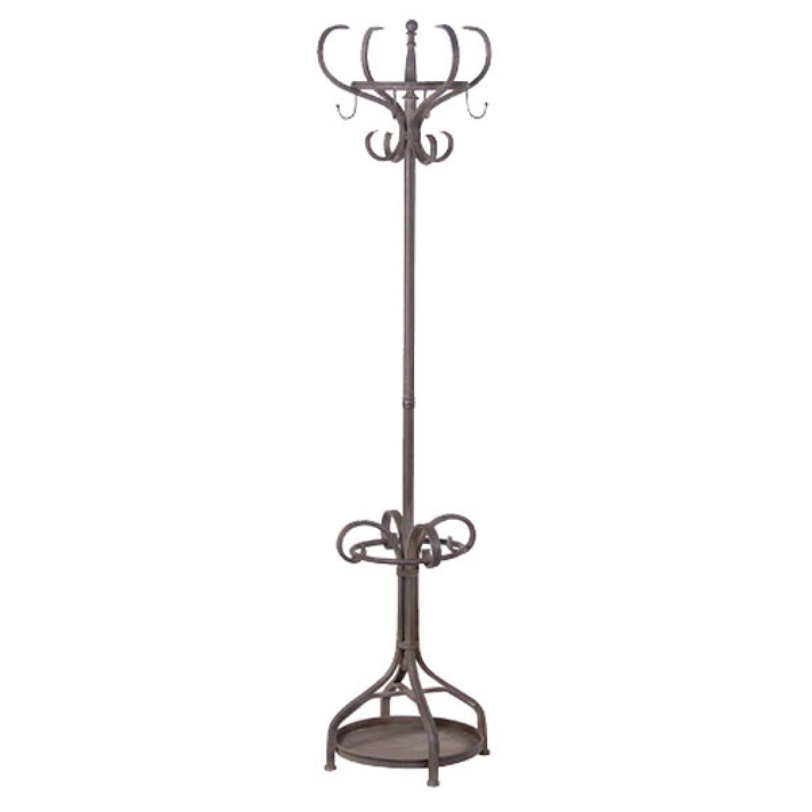 Metal Coat Stand/ Hat Stand Distressed Finish