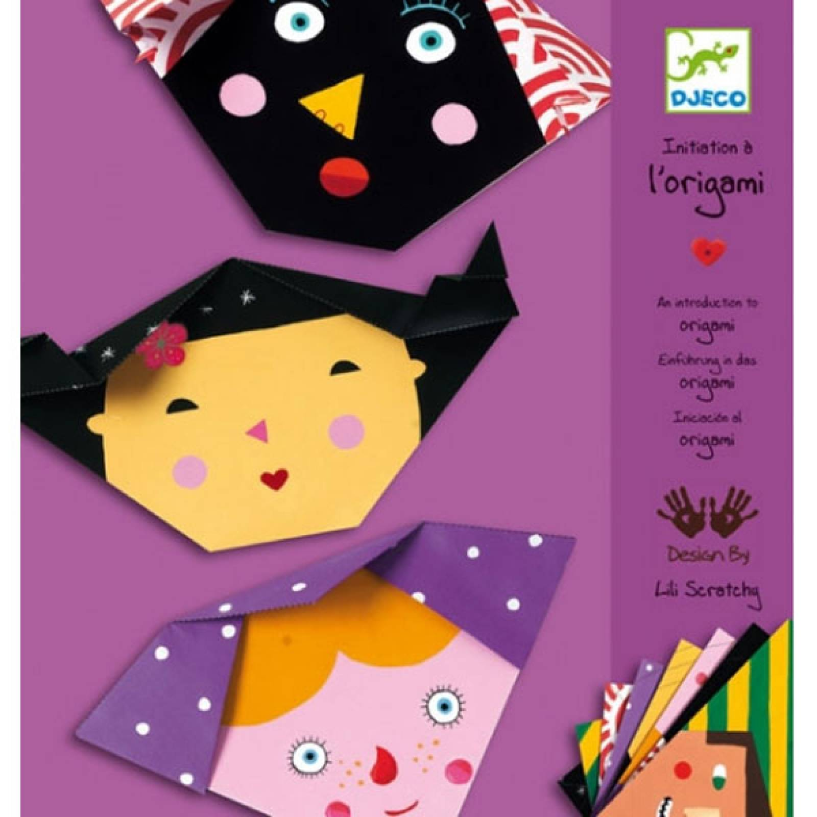 Faces Origami By Djeco.
