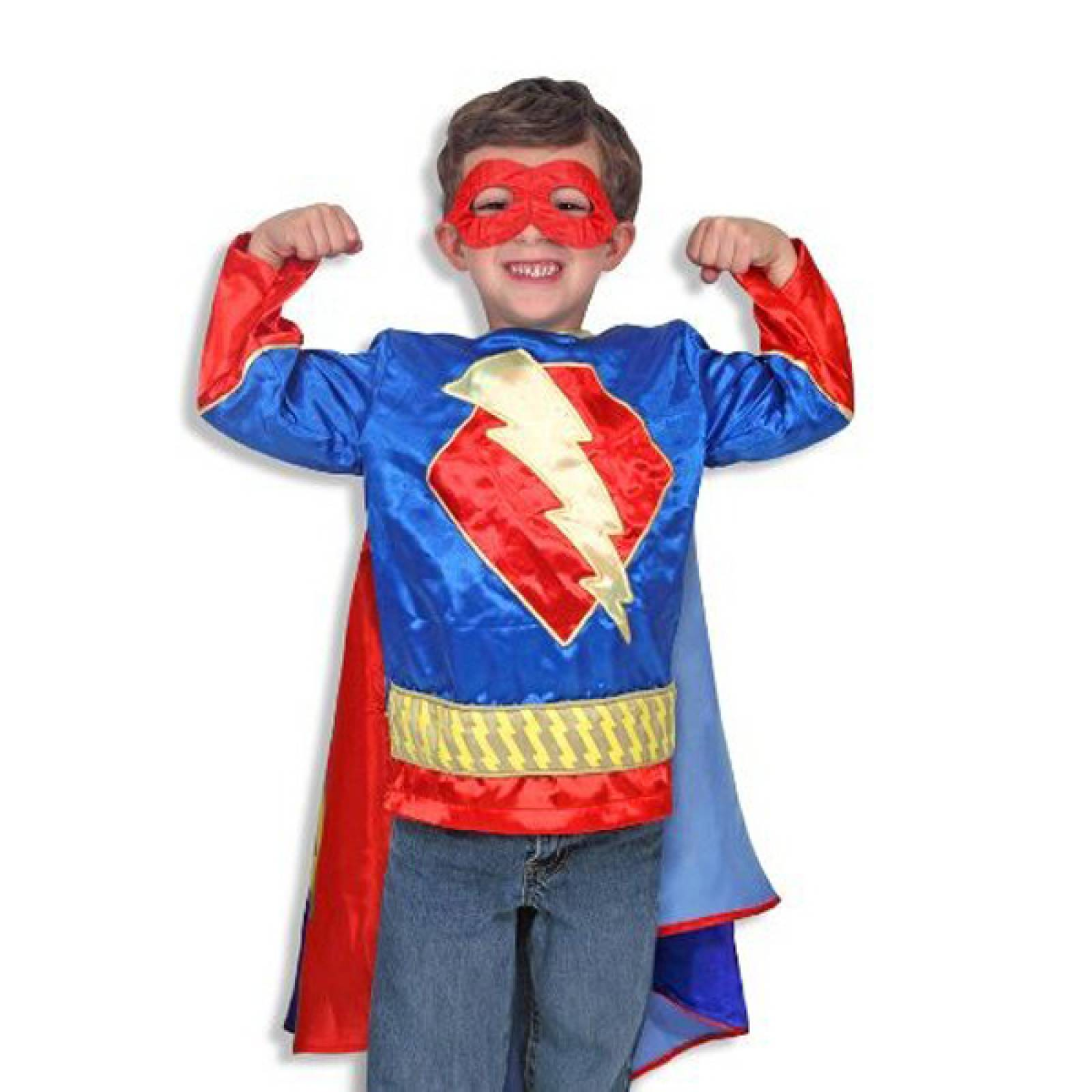 Superhero Fancy Dress Role Play Costume Set.
