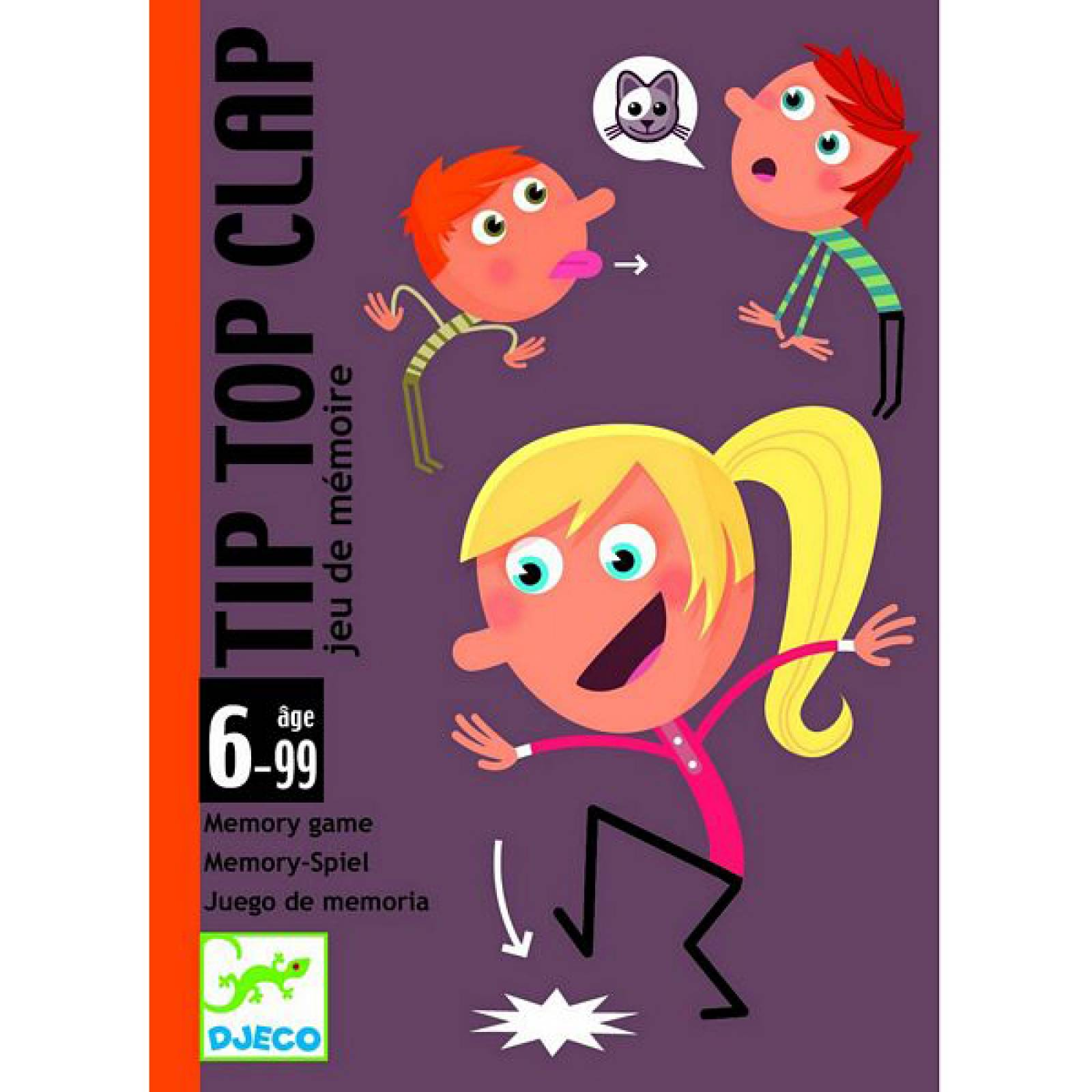 Tip Top Clap Memory Game With Cards Age 6-99yrs!