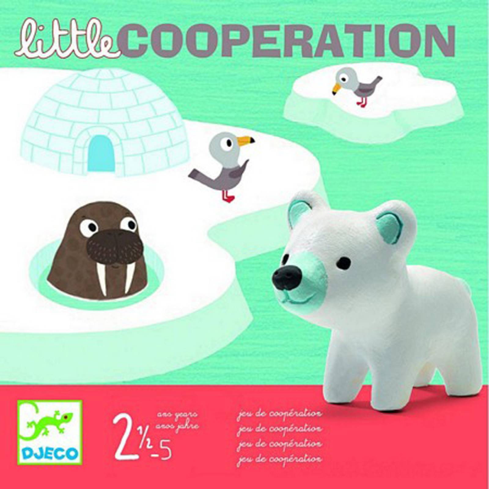 Little Cooperation Game By Djeco Age 2.5-5yrs thumbnails