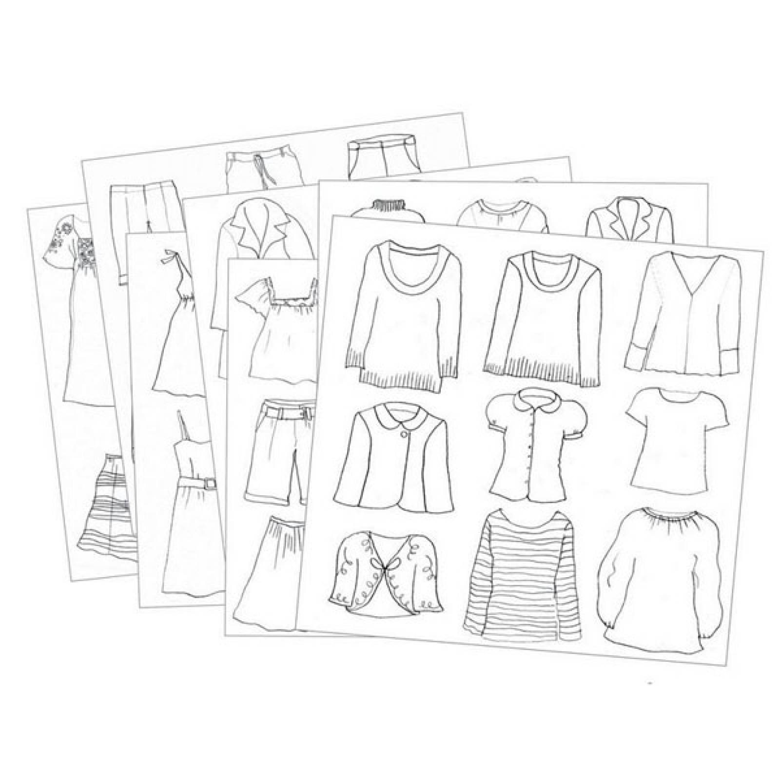 Fashion Drawings Art Set By Djeco Age 9-13yrs. thumbnails