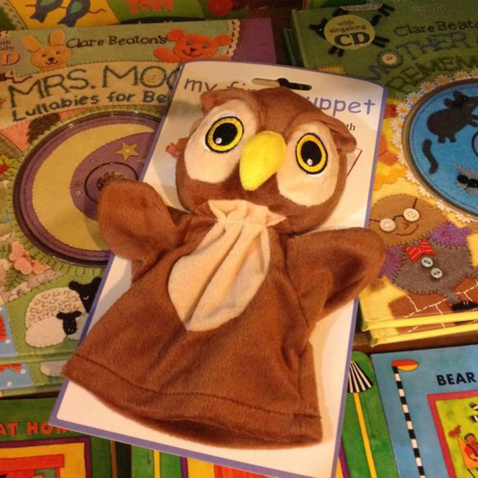 Owl My First Puppet 0yrs+