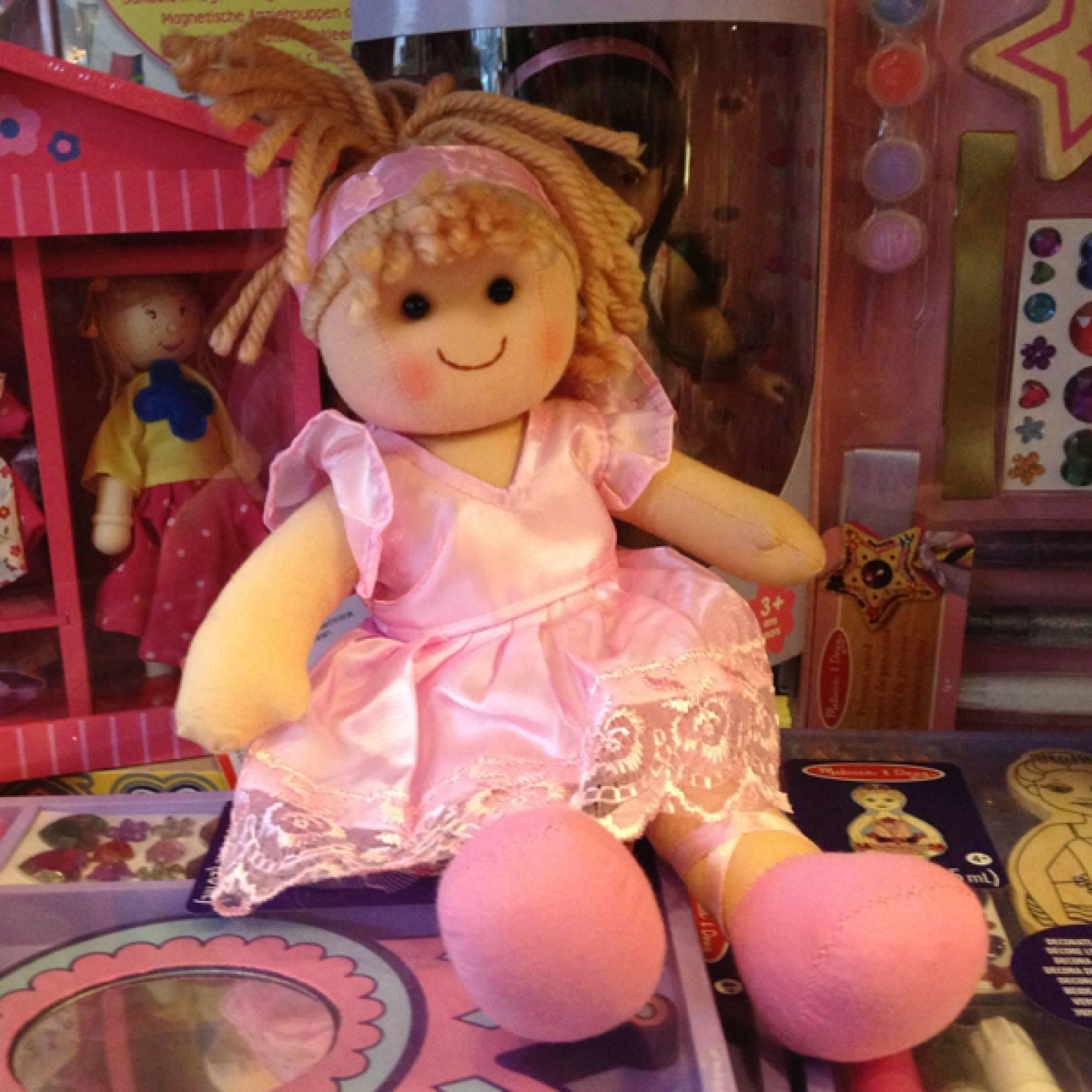 Lily Rag Doll Girl Traditional 28cm thumbnails