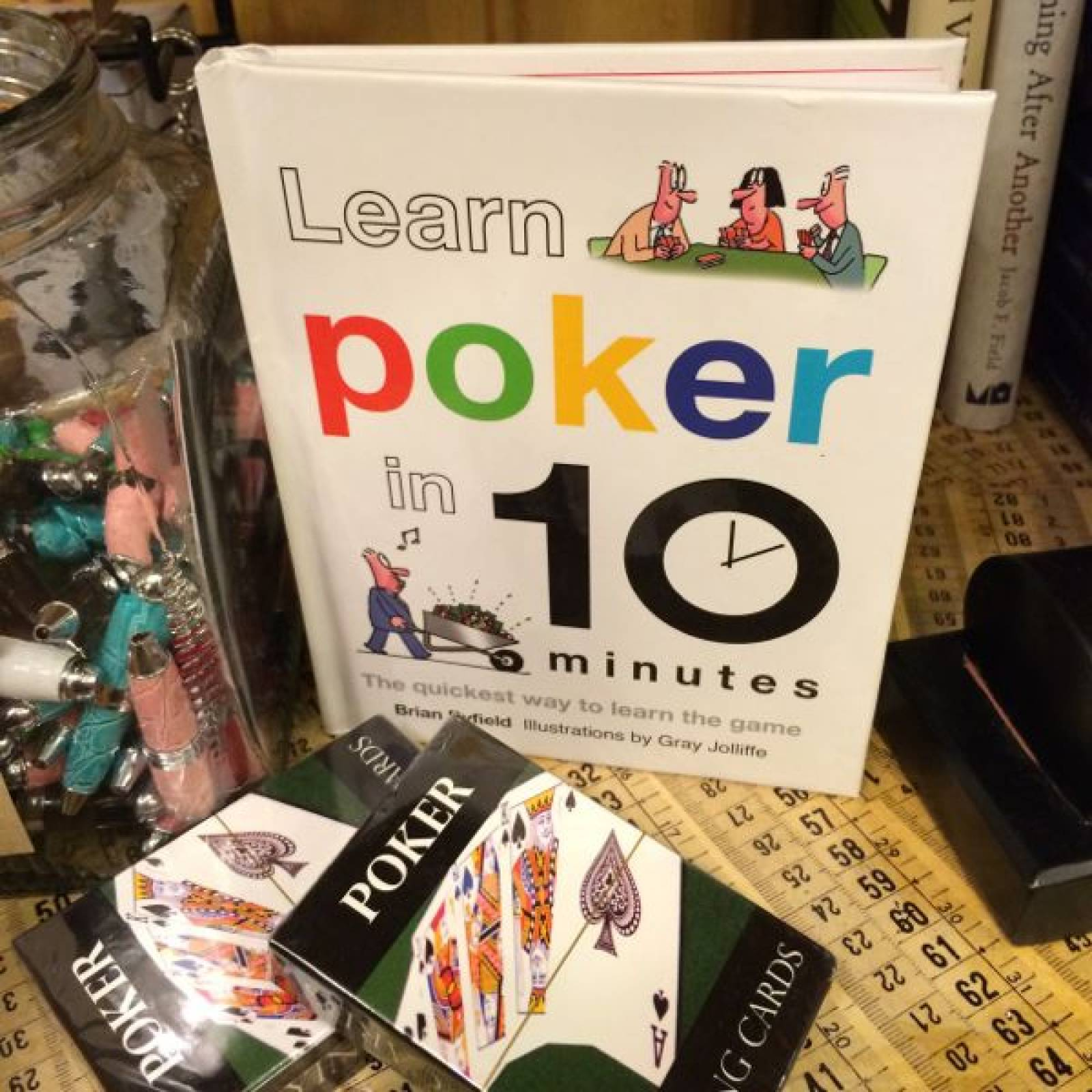 Learn Poker In 10 Minutes Hardback Book thumbnails