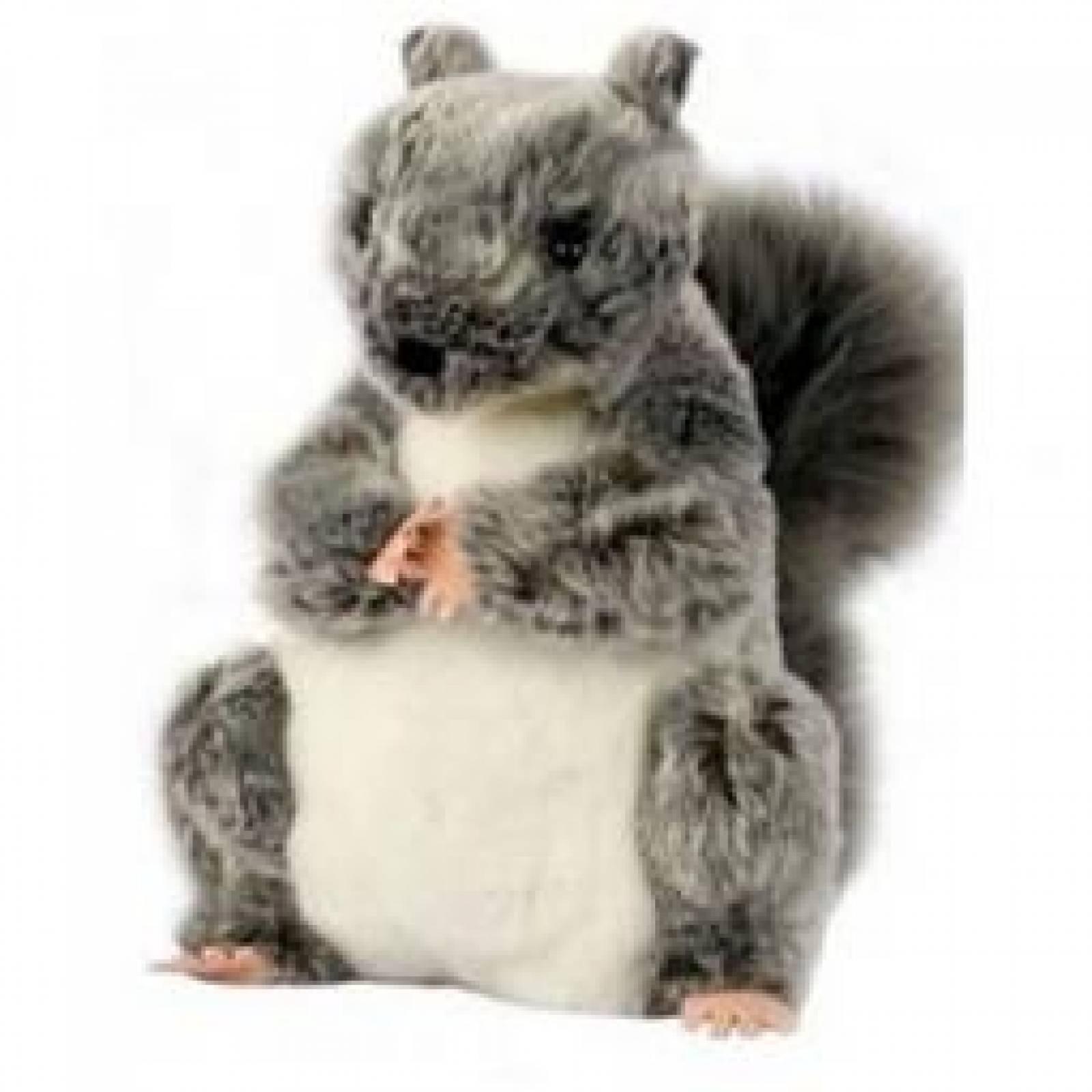 Z DISCON GREY SQUIRREL Plump Glove Puppet European Wildlife