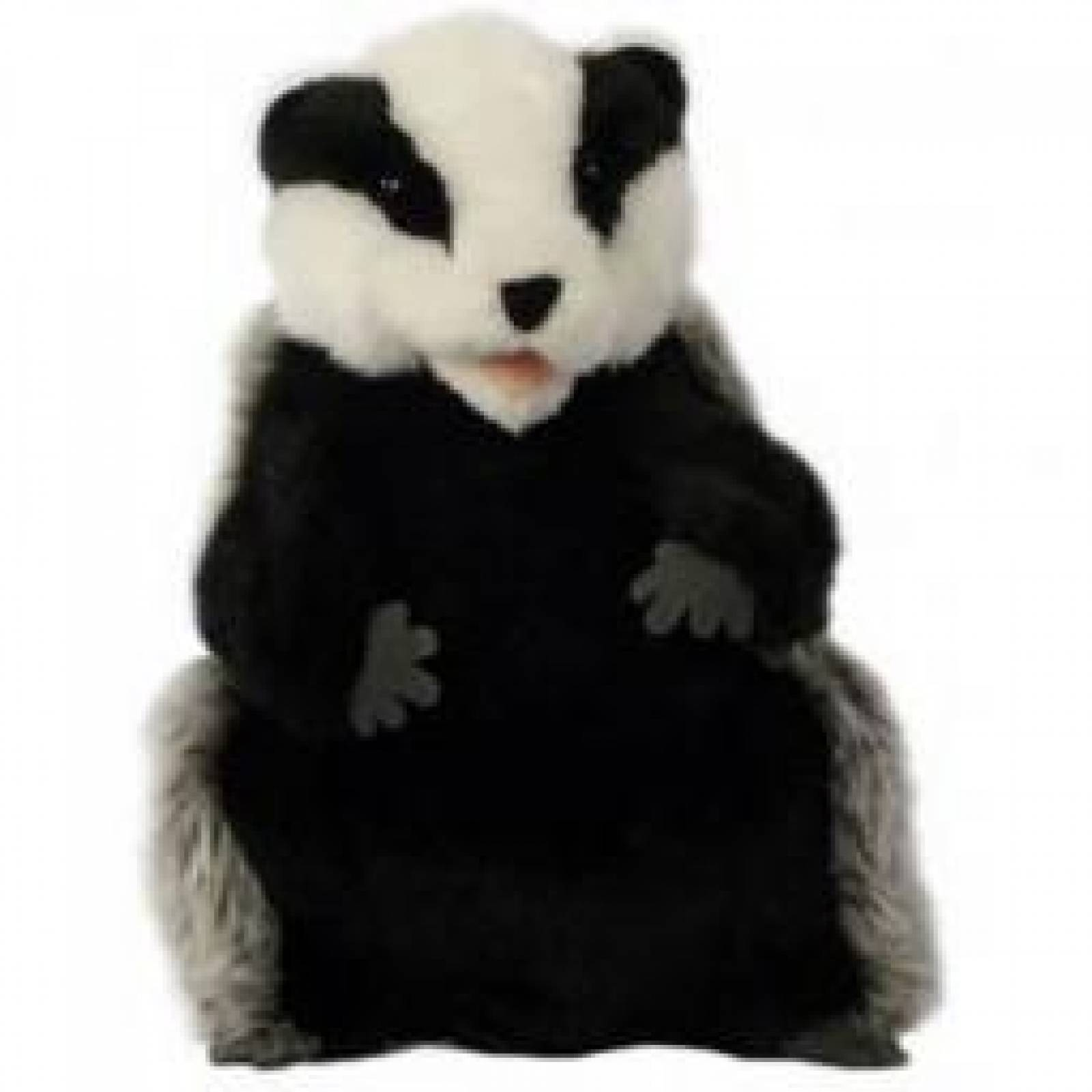 BADGER Plump Glove Puppet European Wildlife