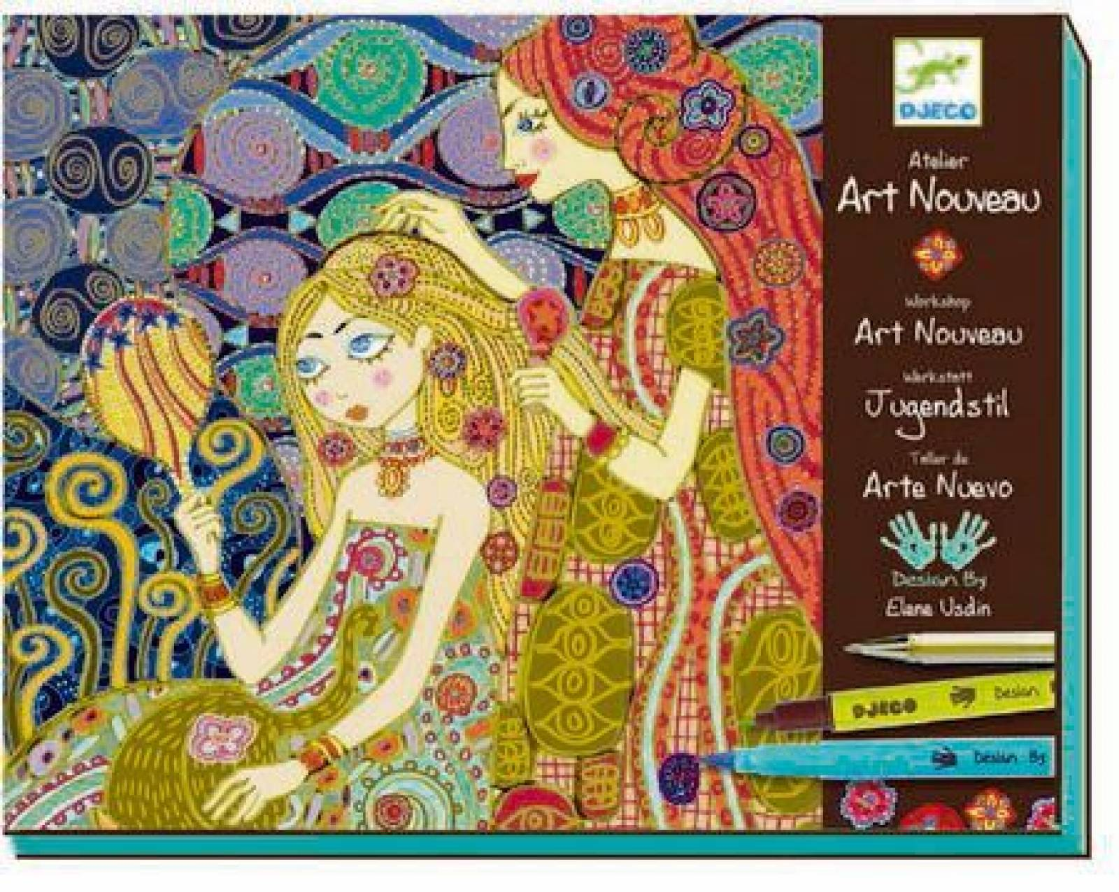 Art Nouveau Art Set By Djeco 9-13yrs
