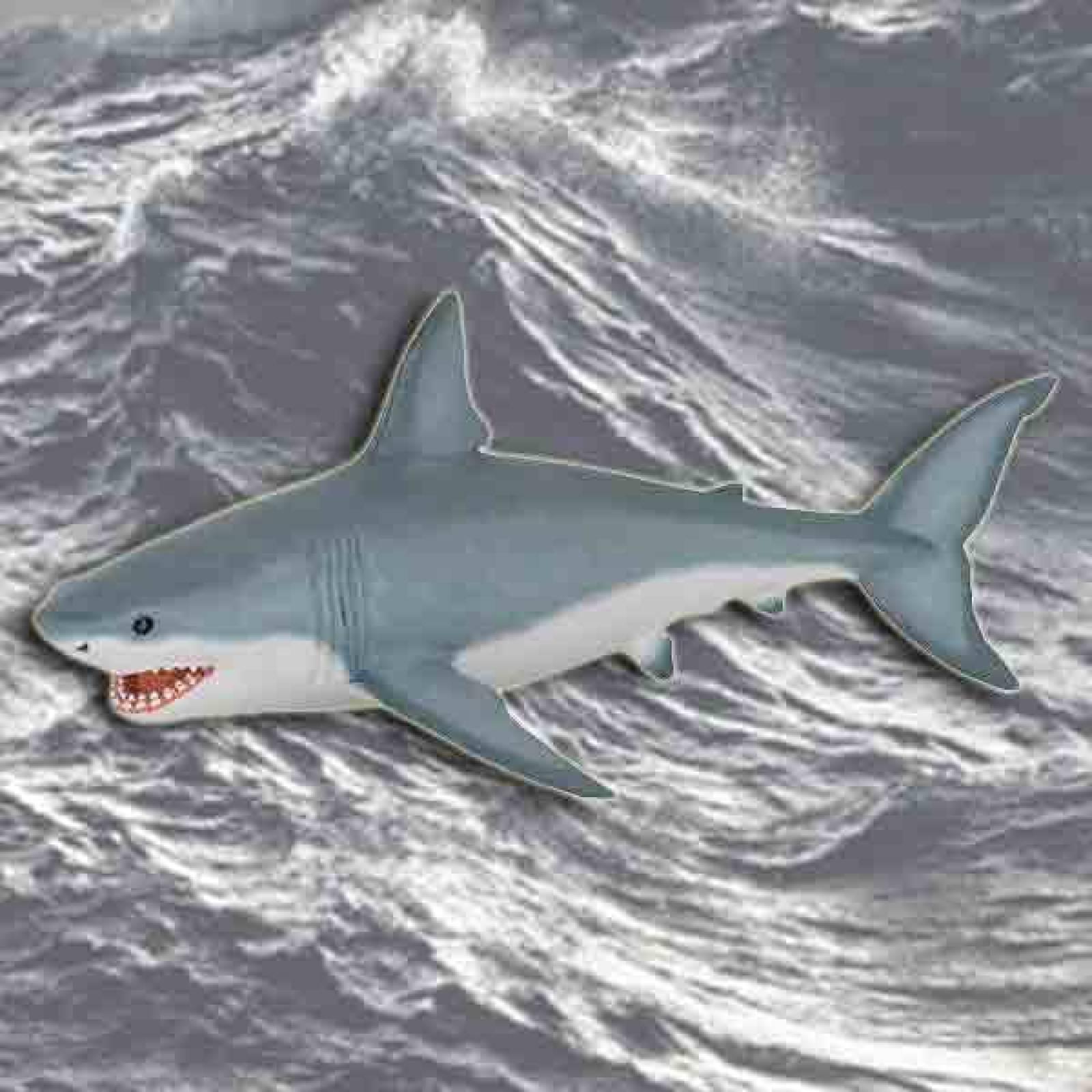 Great White Shark PAPO WILD ANIMAL